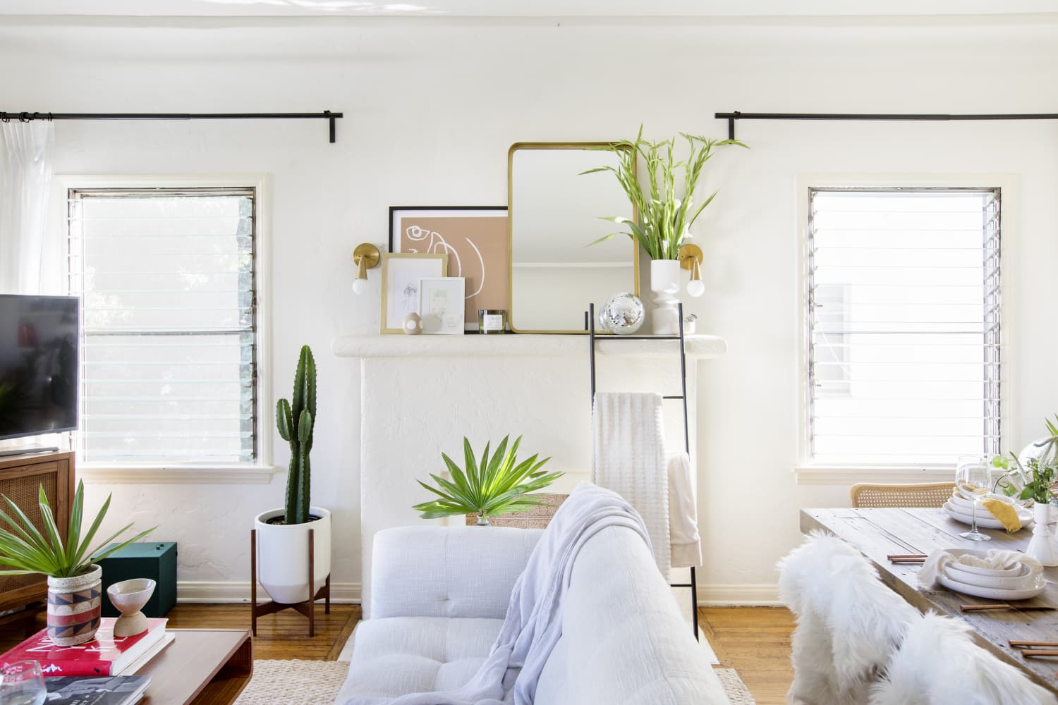 An Interior Designer's Stylish Home Sports Problem-Solving DIYs and a Smart Furniture Layout
