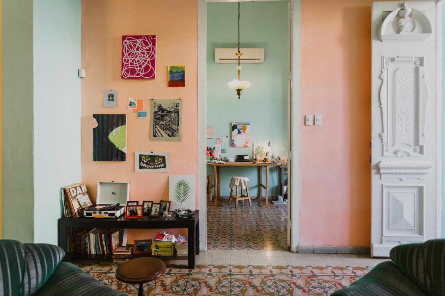 This 1920s Cuban Victorian Called 'The Turquoise House' Is a Perfect, Patterned, Colorful Dream