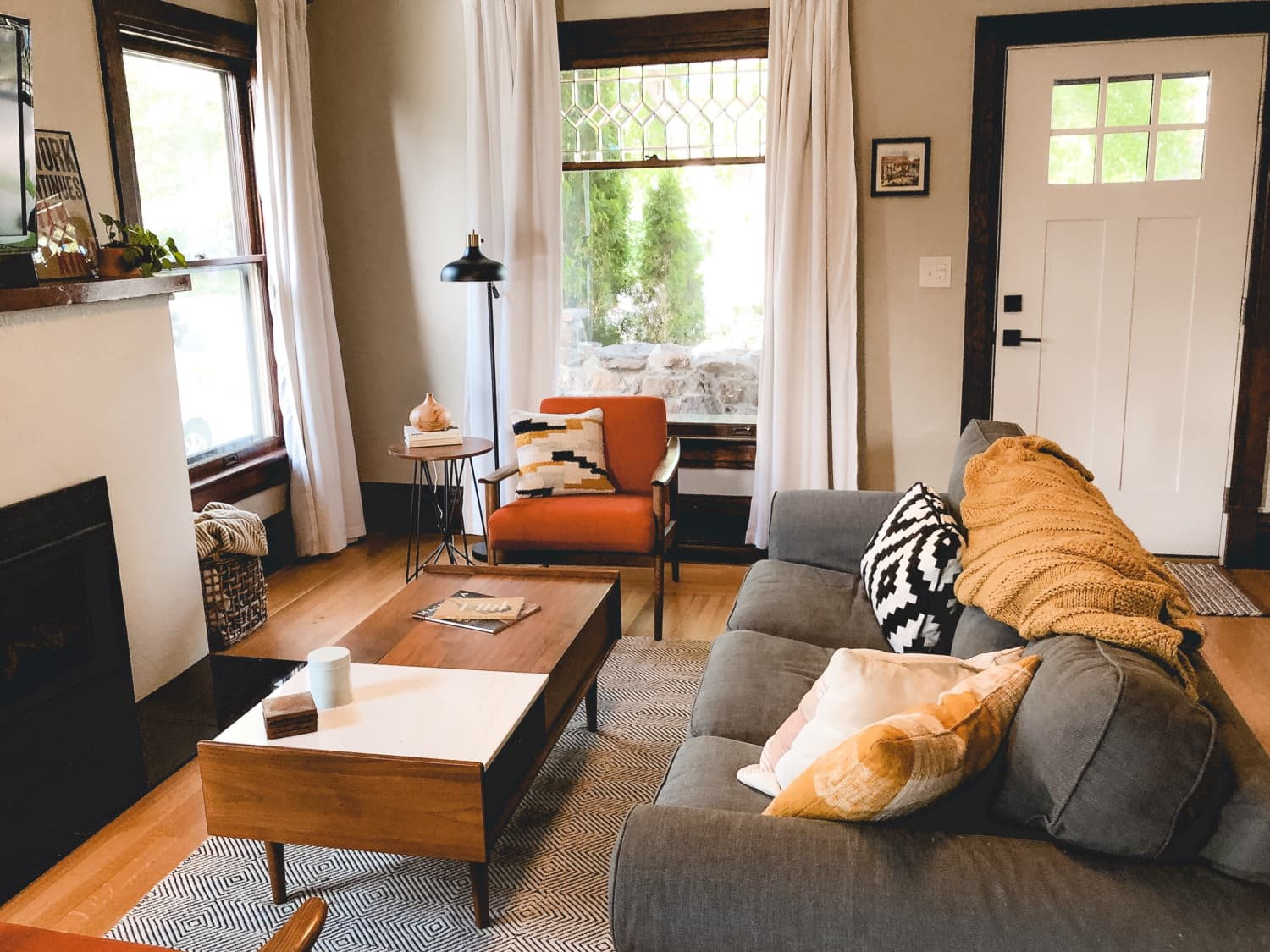 This Craftsman Bungalow's Natural Light is Amazing, and the Decor Warm and Cozy