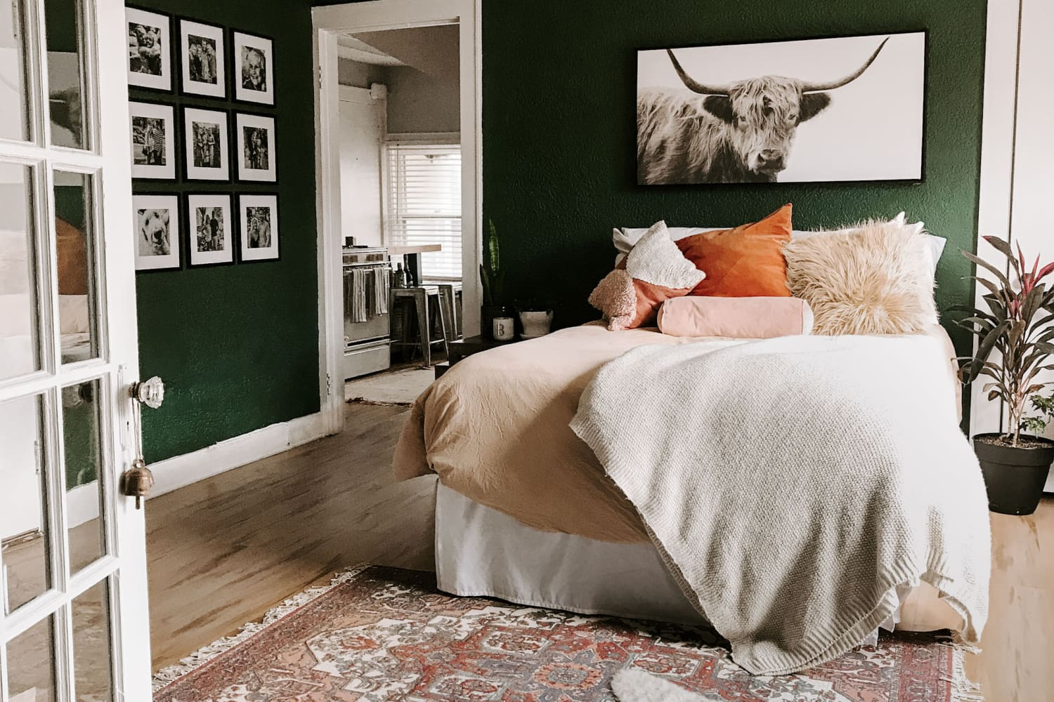 A 500-Square-Foot Attic Apartment in an Old, Historic House Is an Adorable Home for an Artist