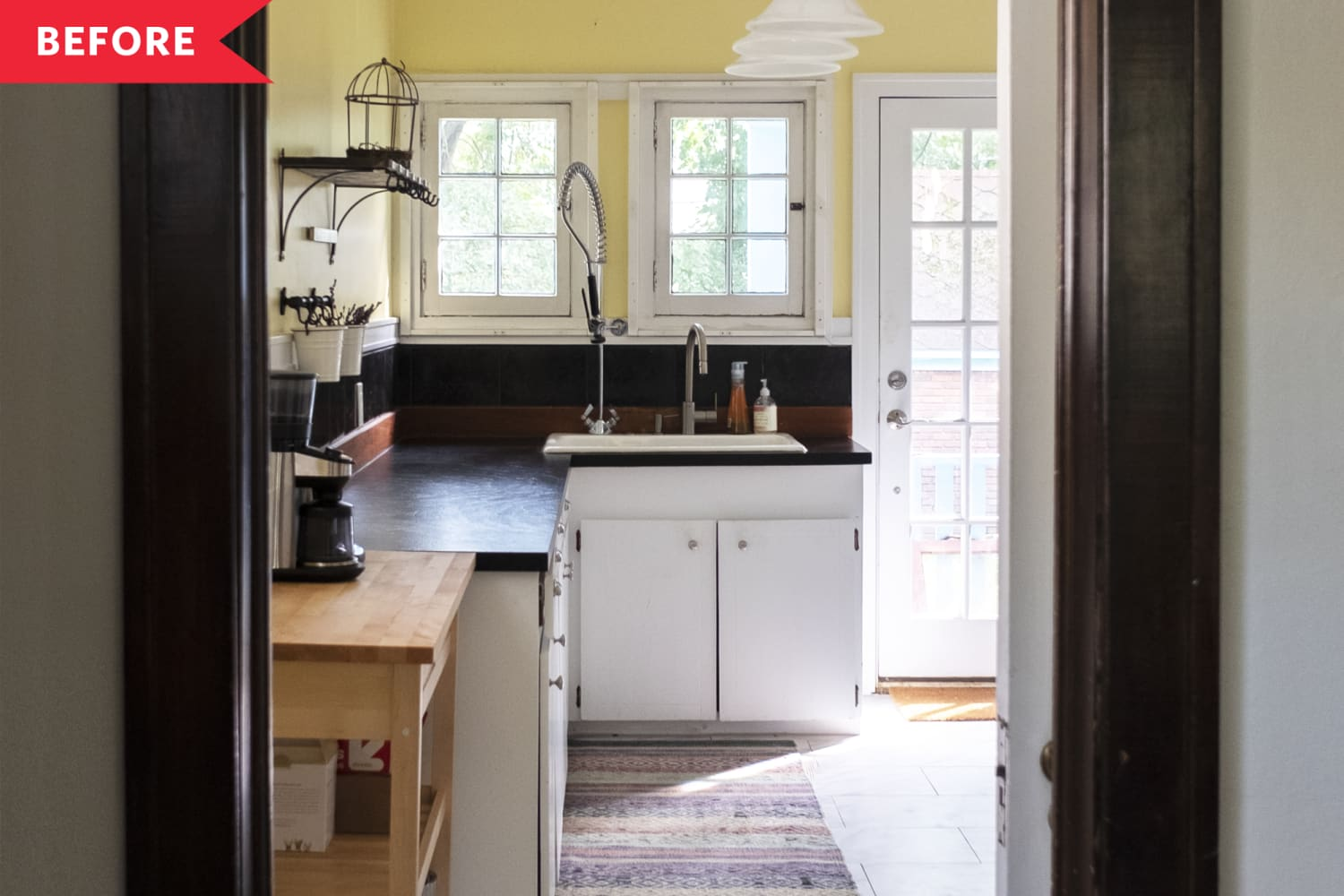 Before & After: This Dated Kitchen's Remodel Not Only Saves Its Vintage Charm, It Improves On It