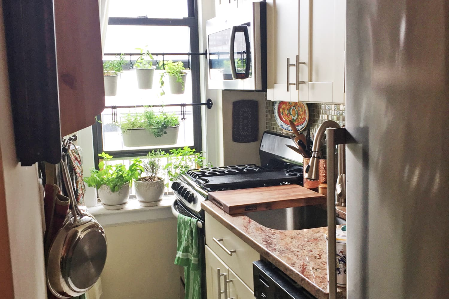 This 320-Square-Foot NYC Studio Is Stuffed With Smart and Organized Storage Ideas