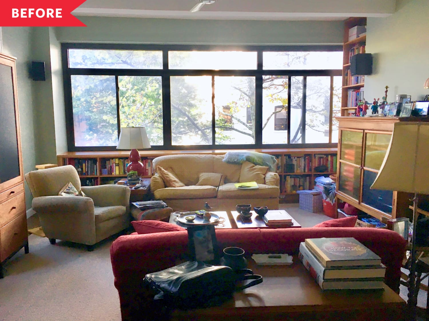 Before & After: A Brooklyn Apartment Proves that Family Heirlooms and Decluttering Can Coexist