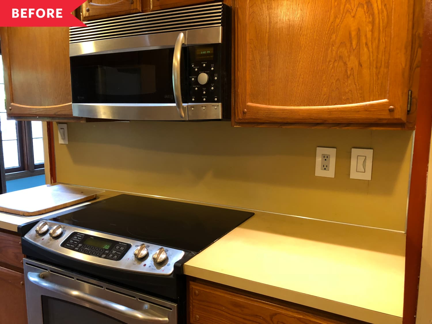 Before & After: Thanks to Smart Budget Ideas, a Dark and Dated Kitchen Is Now Much Improved