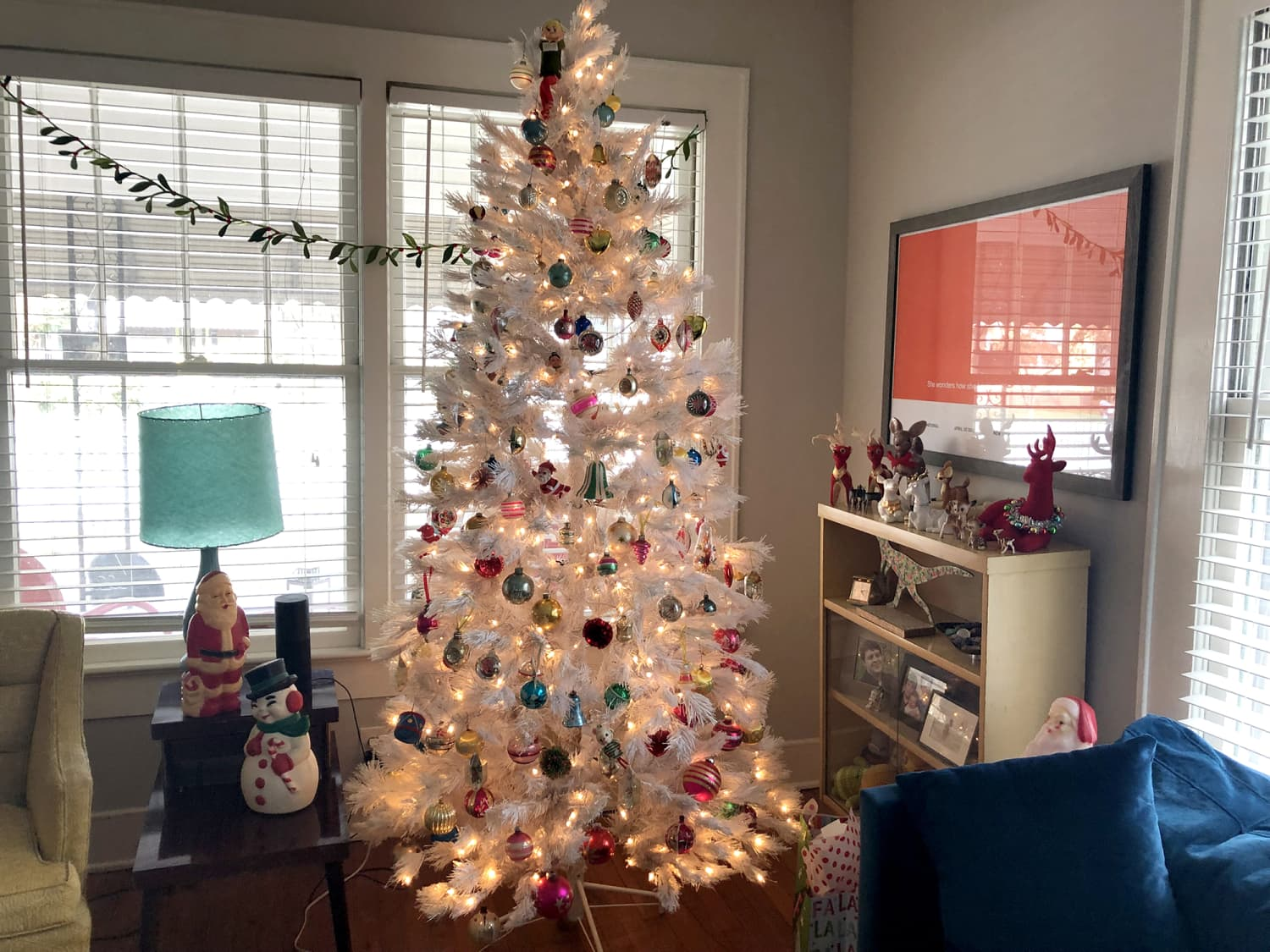 This Homeowner Has Such a Large Vintage Christmas Decor Collection, She Needs Multiple Trees