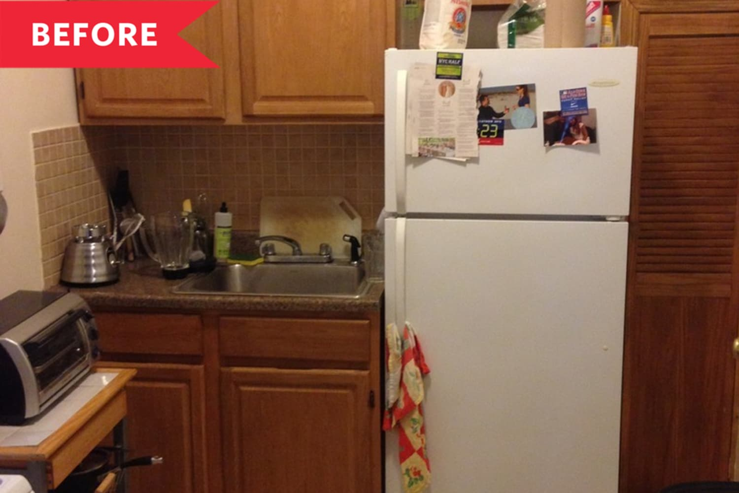 Before & After: A Dated 600-Square-Foot NYC Apartment Gets a Beautiful, Low-Cost Upgrade