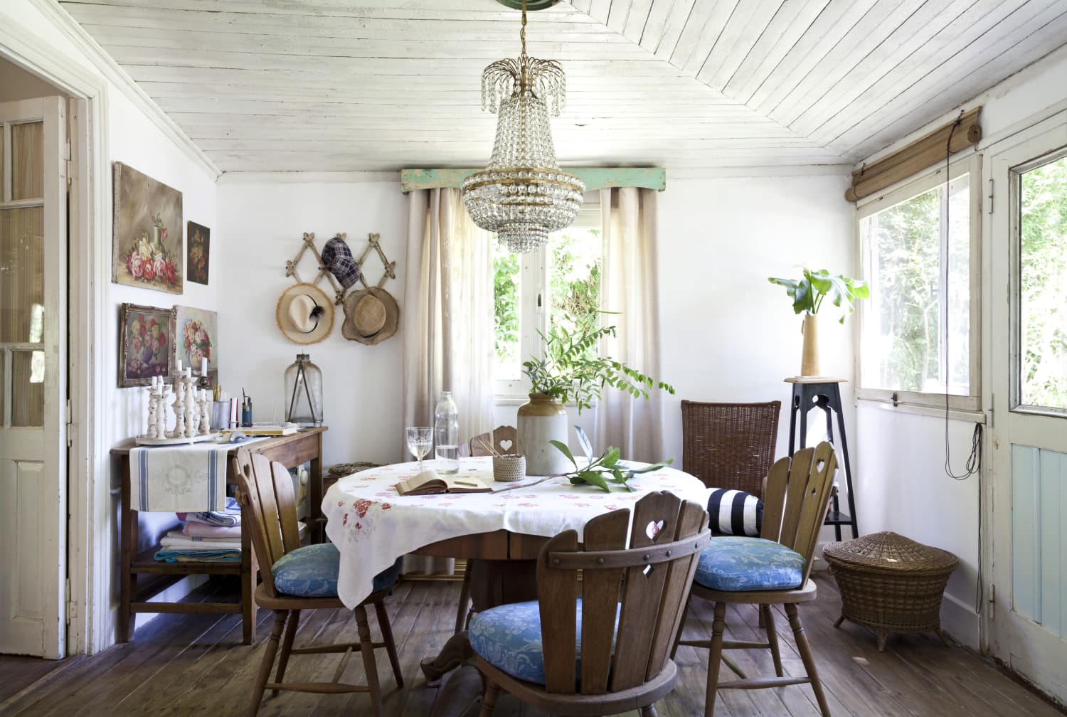 A Rustic Chic Argentina Home Has an Incredible Collection of Furniture and Art