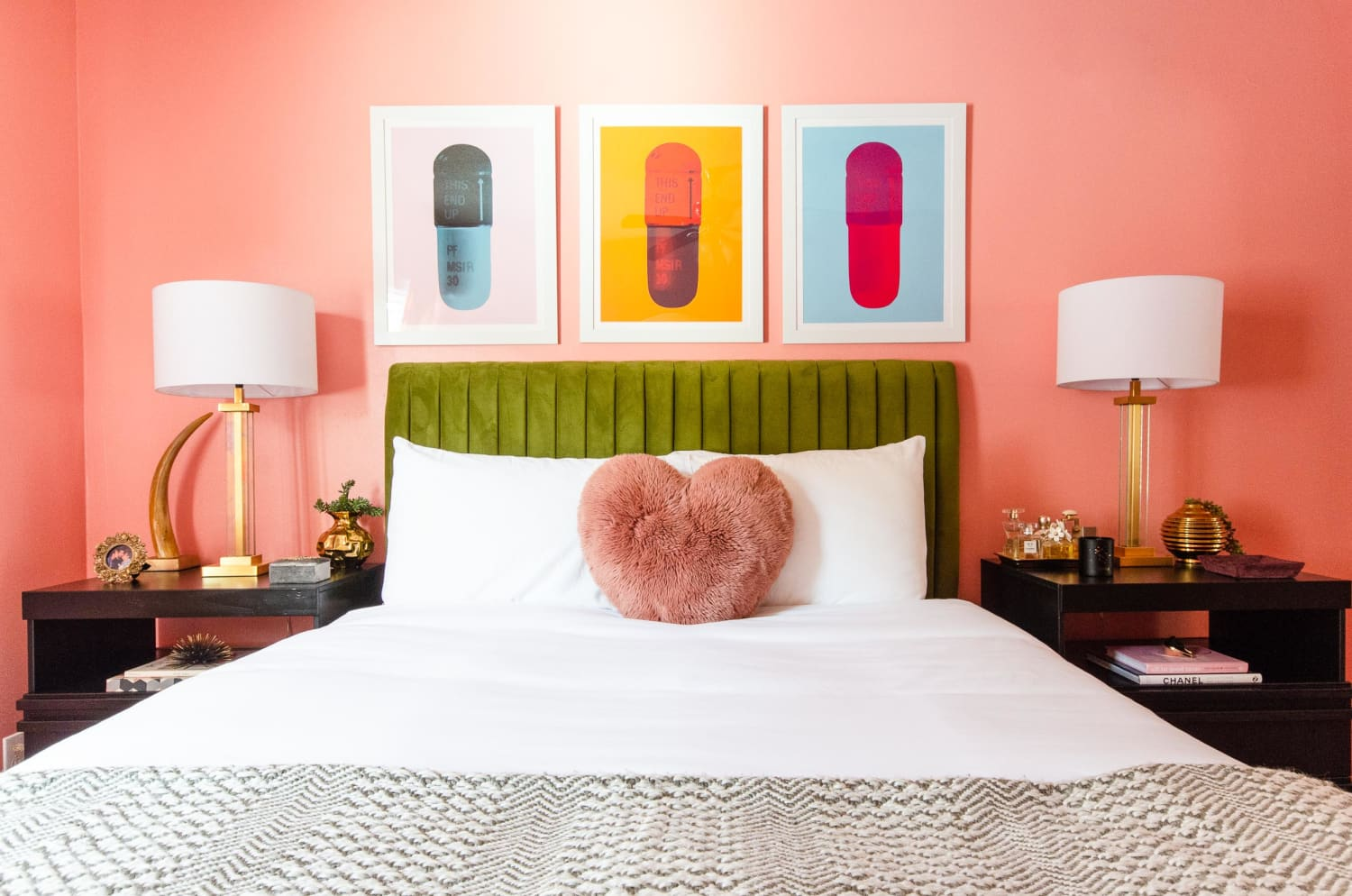 An Interior Designer on a Budget Turned a Dated Apartment Into a Colorful, Eclectic Space