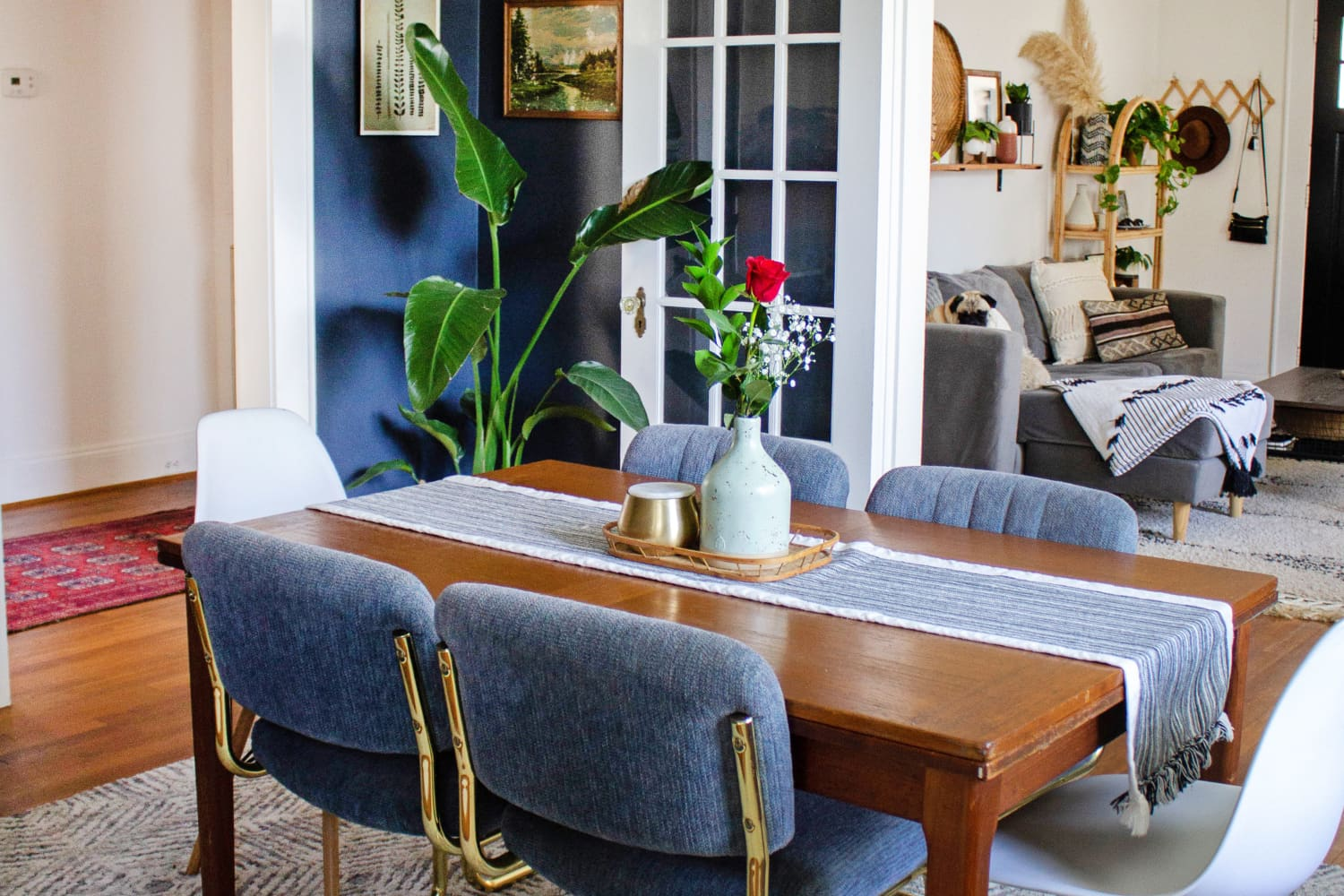 This Bungalow Shows the Power of Paint and Good Furniture Finds