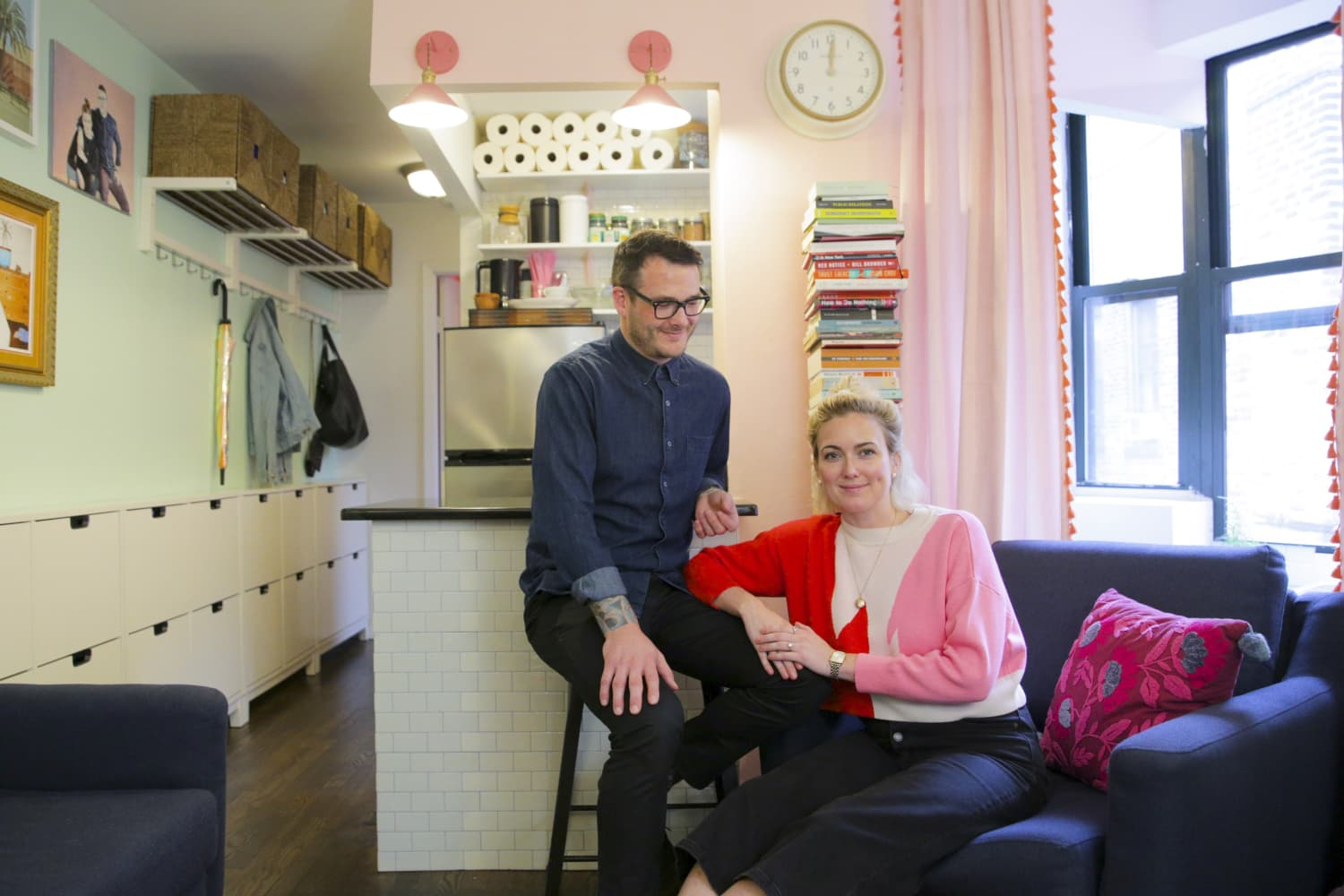 This Extremely Organized 350-Square-Foot NYC Apartment Will Make You Re-Think Your Storage Situation