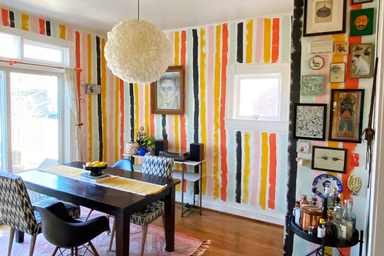 Every Room in This 115-Year-Old House Has Been Transformed With Colorful DIY Paint