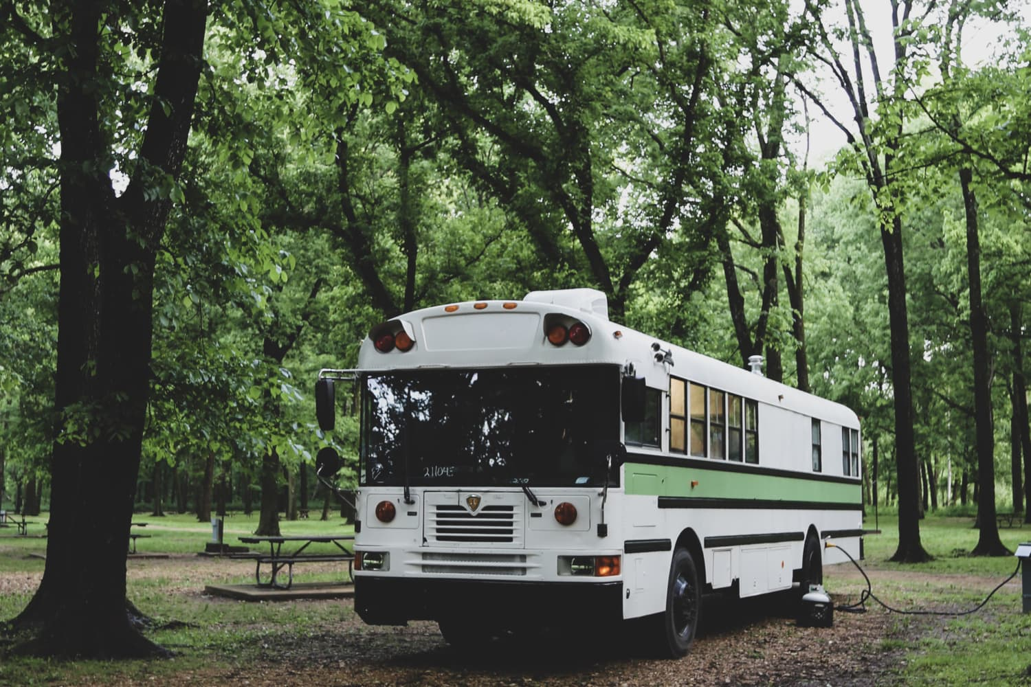 6 Brilliant Storage Ideas to Steal from This 234-Square-Foot Converted School Bus