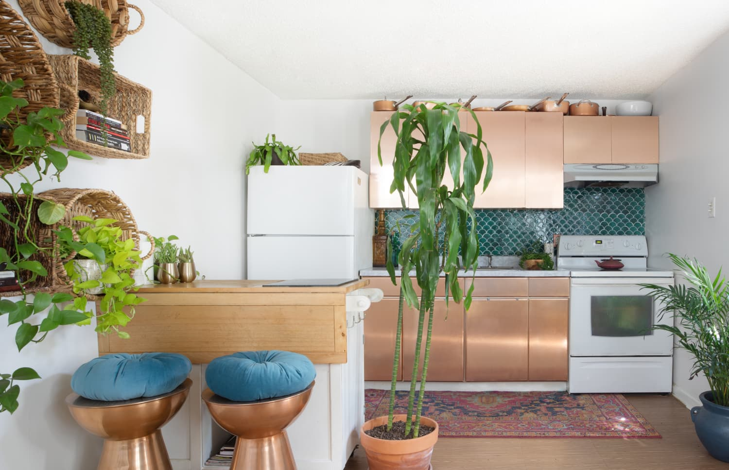 These Kitchens All Got Impressively Awesome Makeovers, Thanks to the Magic of Self-Adhesive Paper