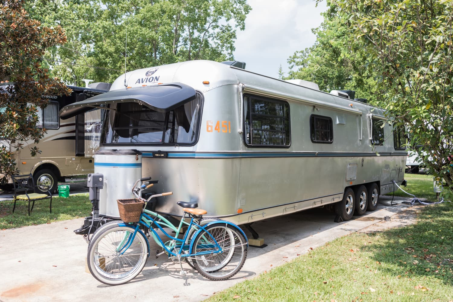 Here's How One Family with Triplets Cooks in Their Tiny RV Kitchen