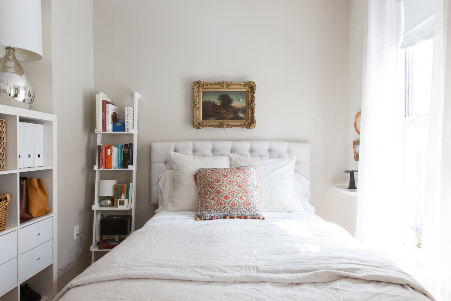 Proof That Nightstands Aren't the Only Answer to Your Bedside Storage Woes