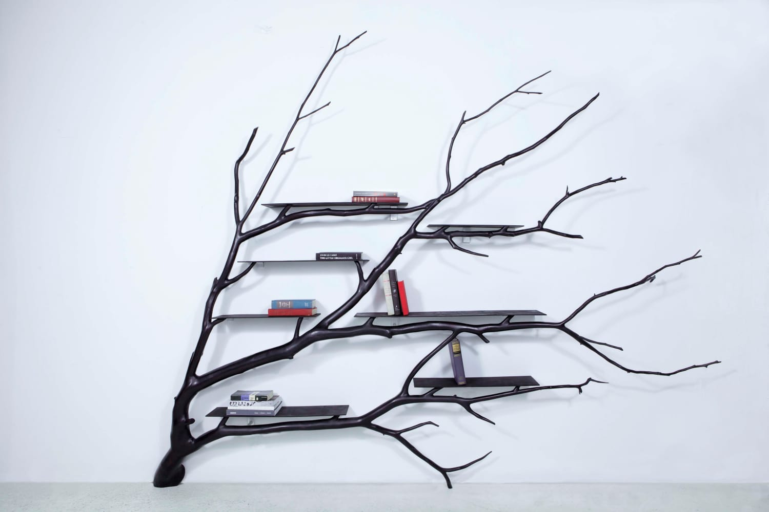 This Chilean Artist Turned A Fallen Branch Into A Stunning Shelf