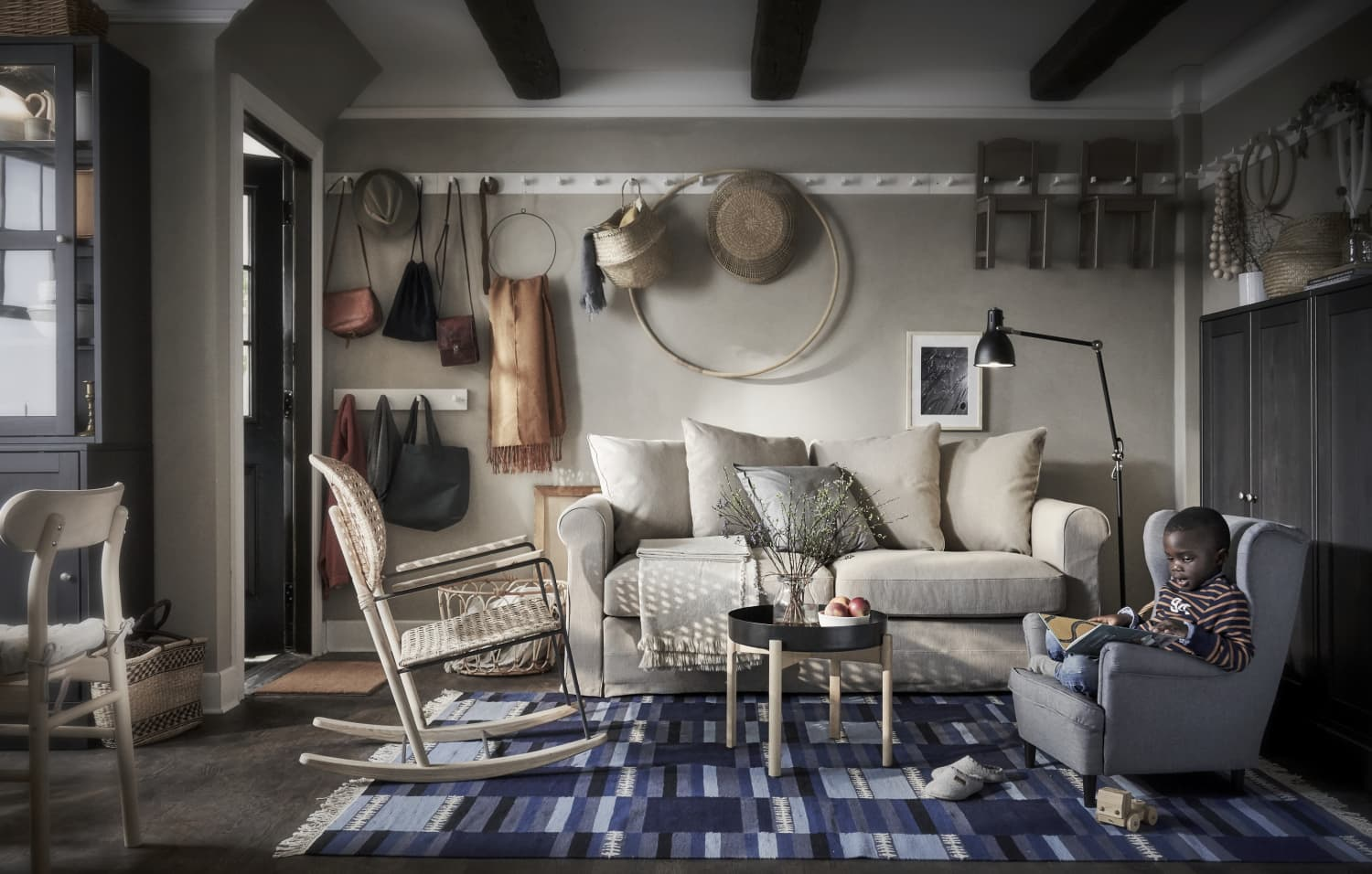 7 Genius Small Space Organizing Tips to Steal from the 2020 IKEA Catalog