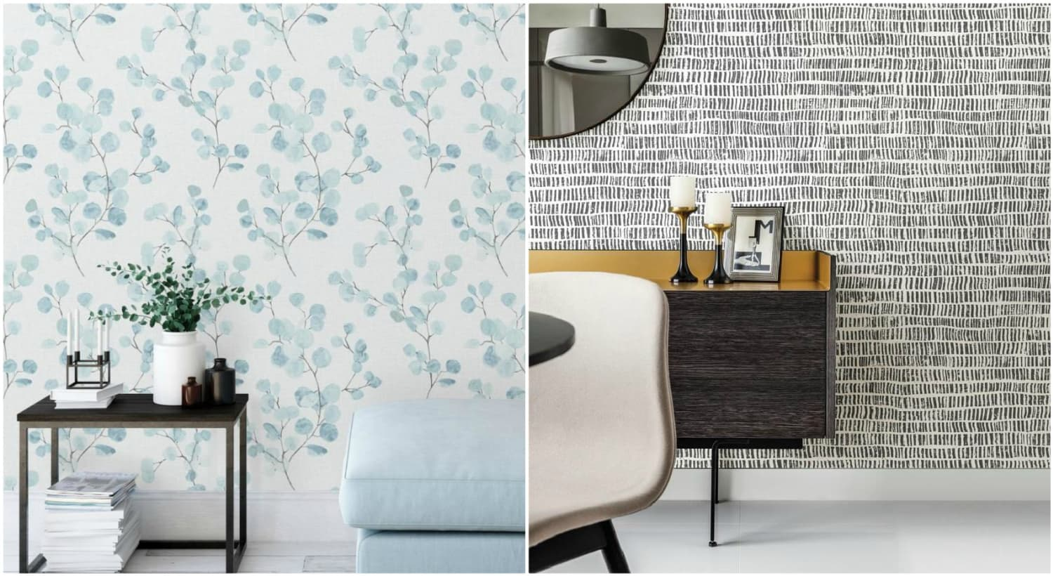 The Property Brothers Launched Peel-and-Stick Wallpaper, and It's Time to Redecorate