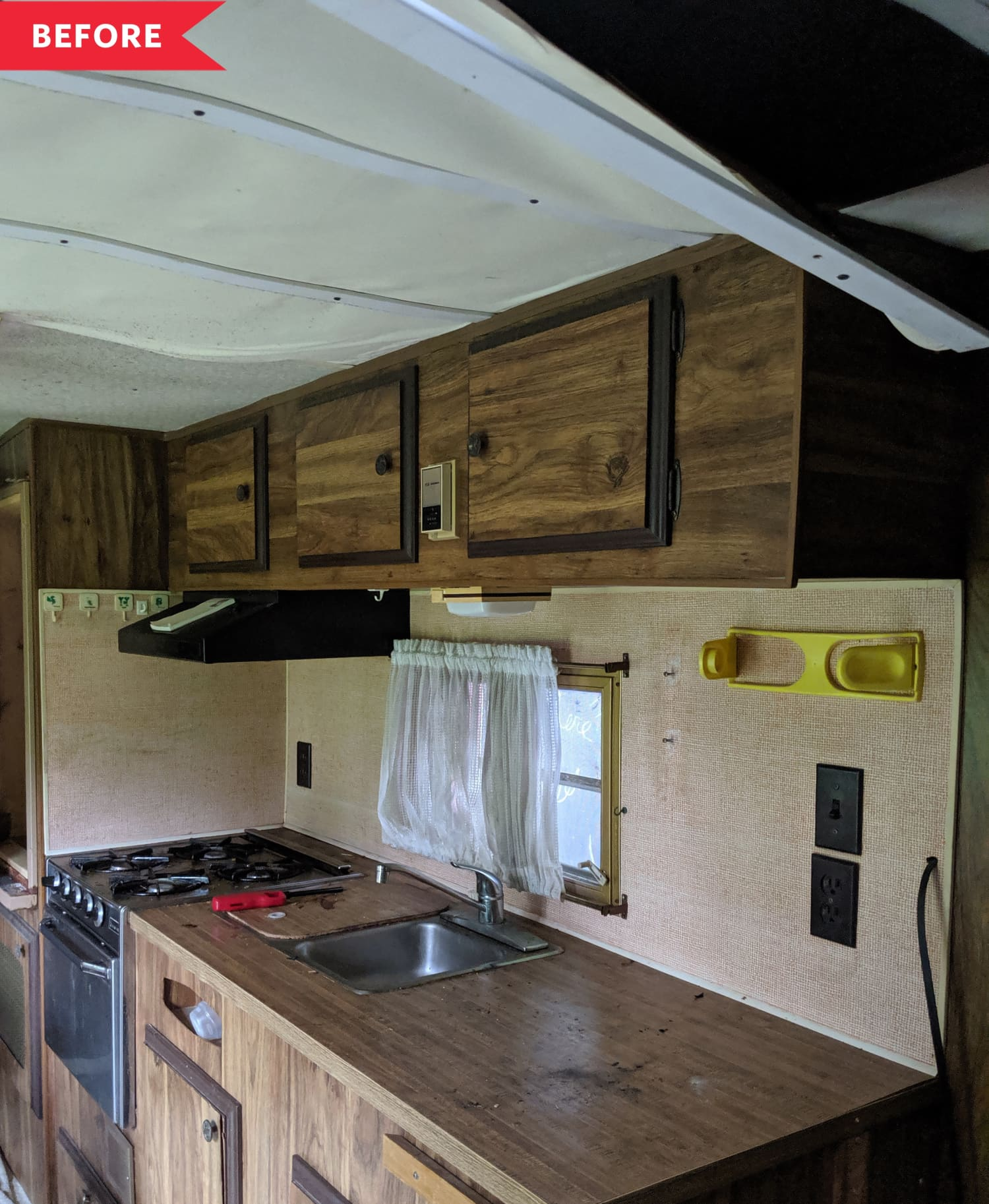 Before & After: We Can't Believe This Incredible RV Makeover Cost Just $500