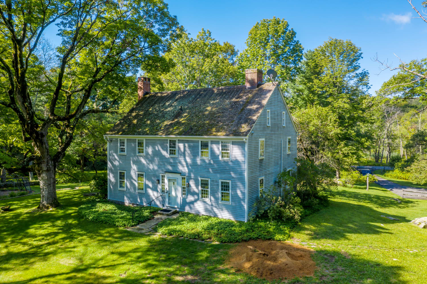 """The CT Home Where Philip Roth Wrote """"American Pastoral"""" Is Listed for $3M"""
