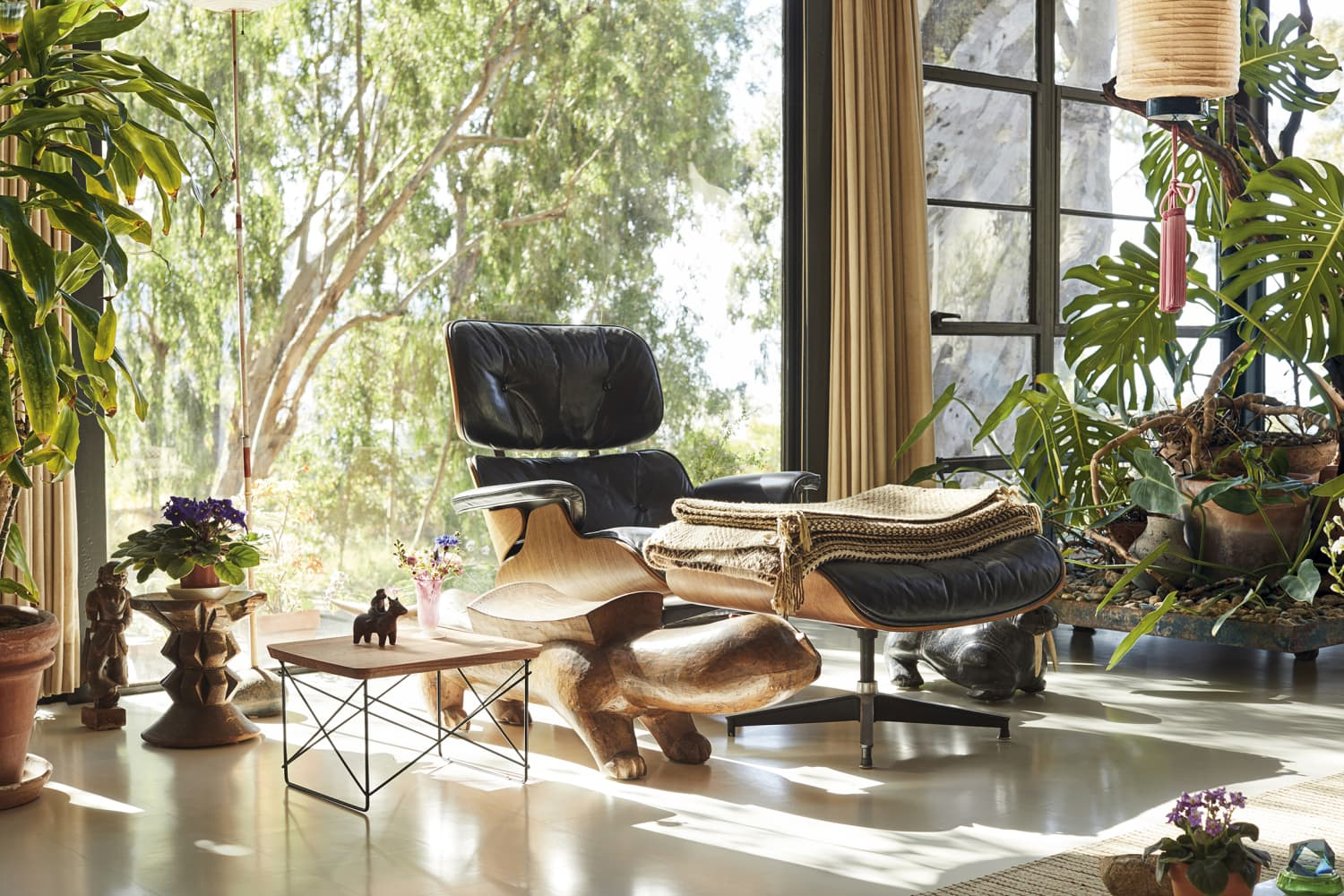 These Limited-Edition Tables Are Made from Trees Harvested at the Eames House