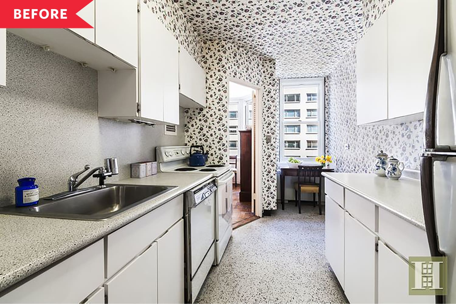 Before & After: This Closed-Off, Dated NYC Apartment Opens Up