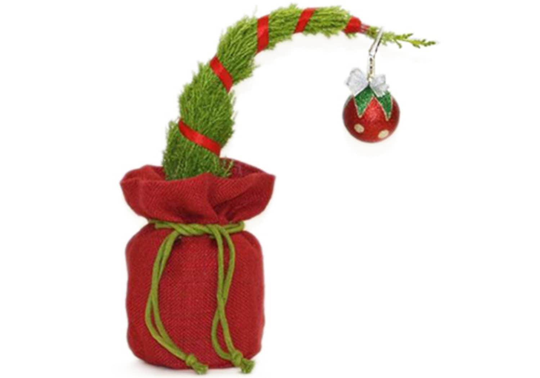 Trader Joe's Sells Grinch-Inspired Mini Christmas Trees