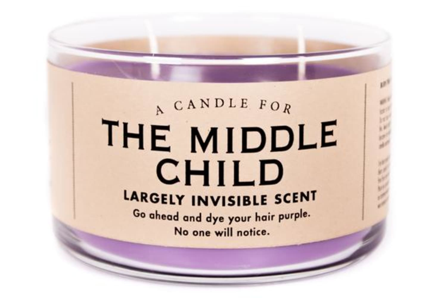 Middle Children, You Haven't Been Forgotten: This Candle Is Just for You