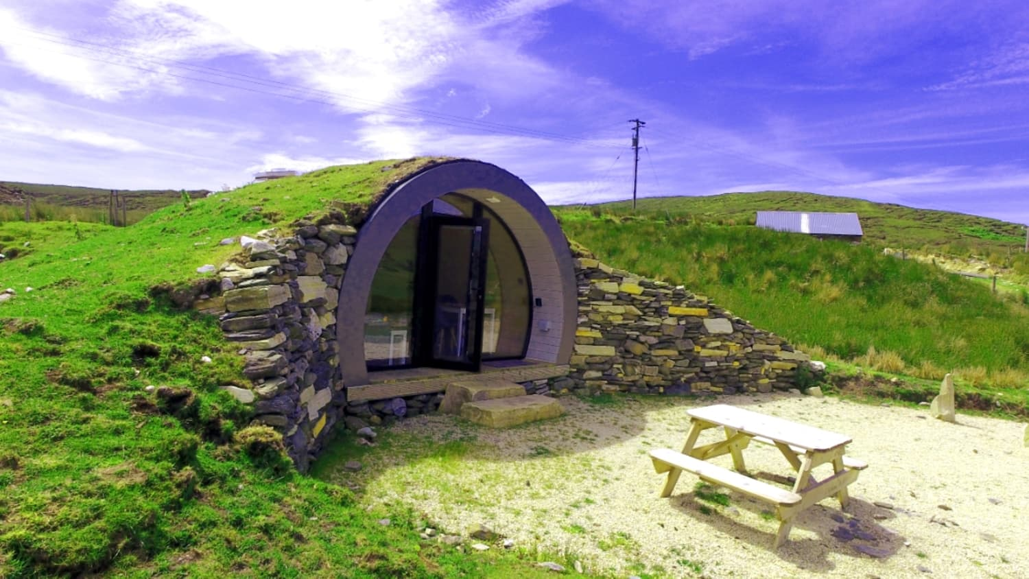 Hibernate the Winter Away at This 226 Square Foot Hobbit Hole in Ireland