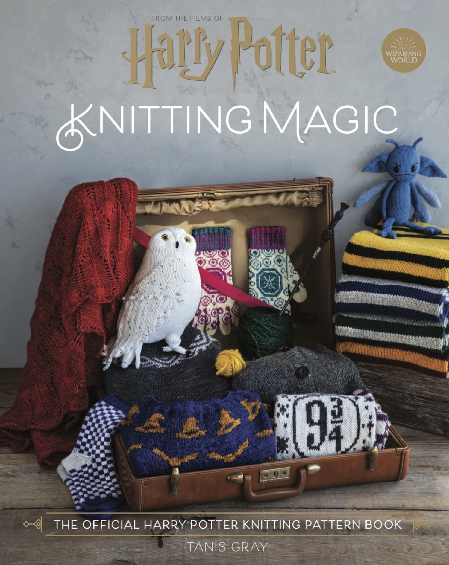 The First Official 'Harry Potter' Knitting Pattern Book Will Be Here Soon