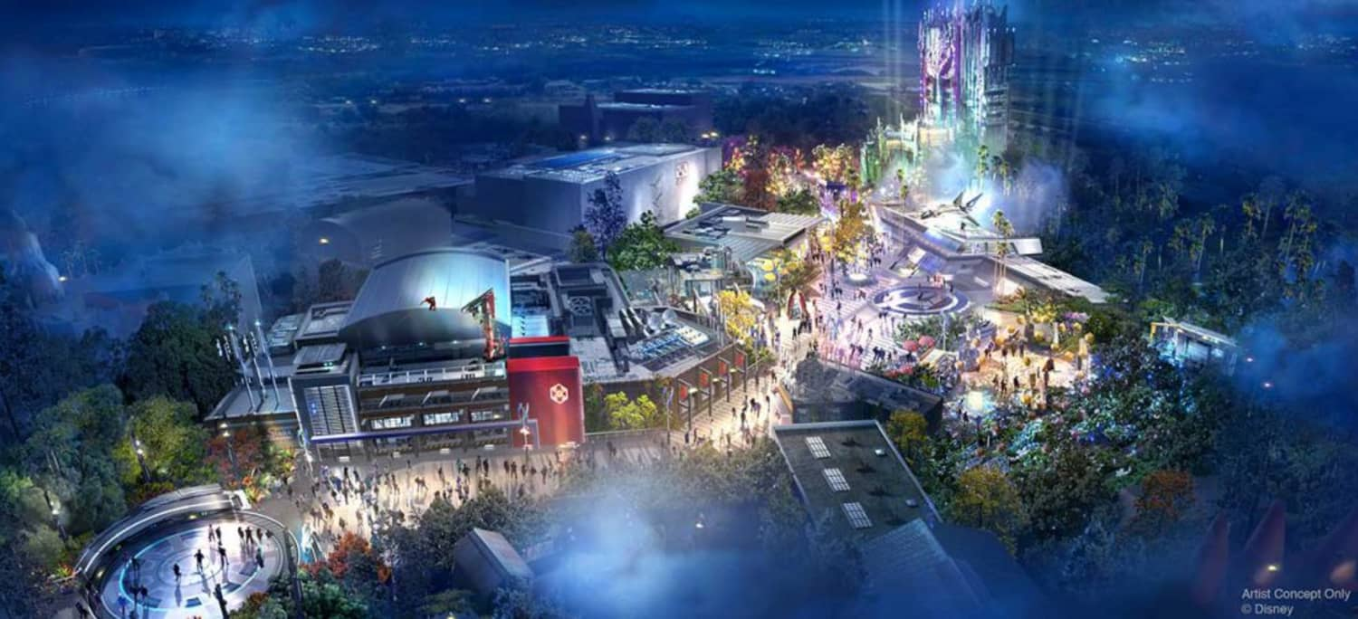 Take a Look at the New Avengers Campus, Opening at Disneyland This Summer