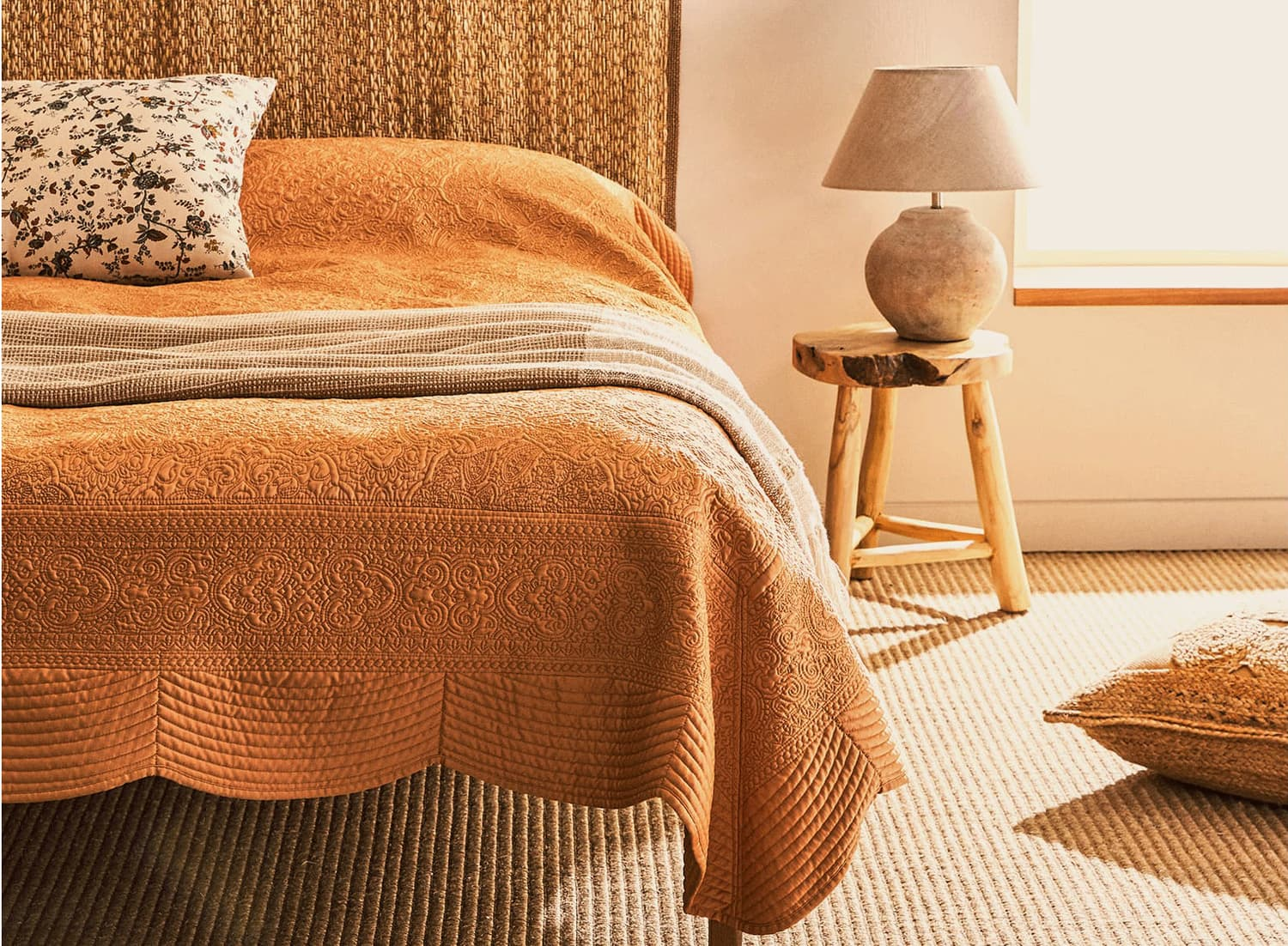 Zara Home's New Spring Bedding Collection is Full of Cozy Cottage Vibes