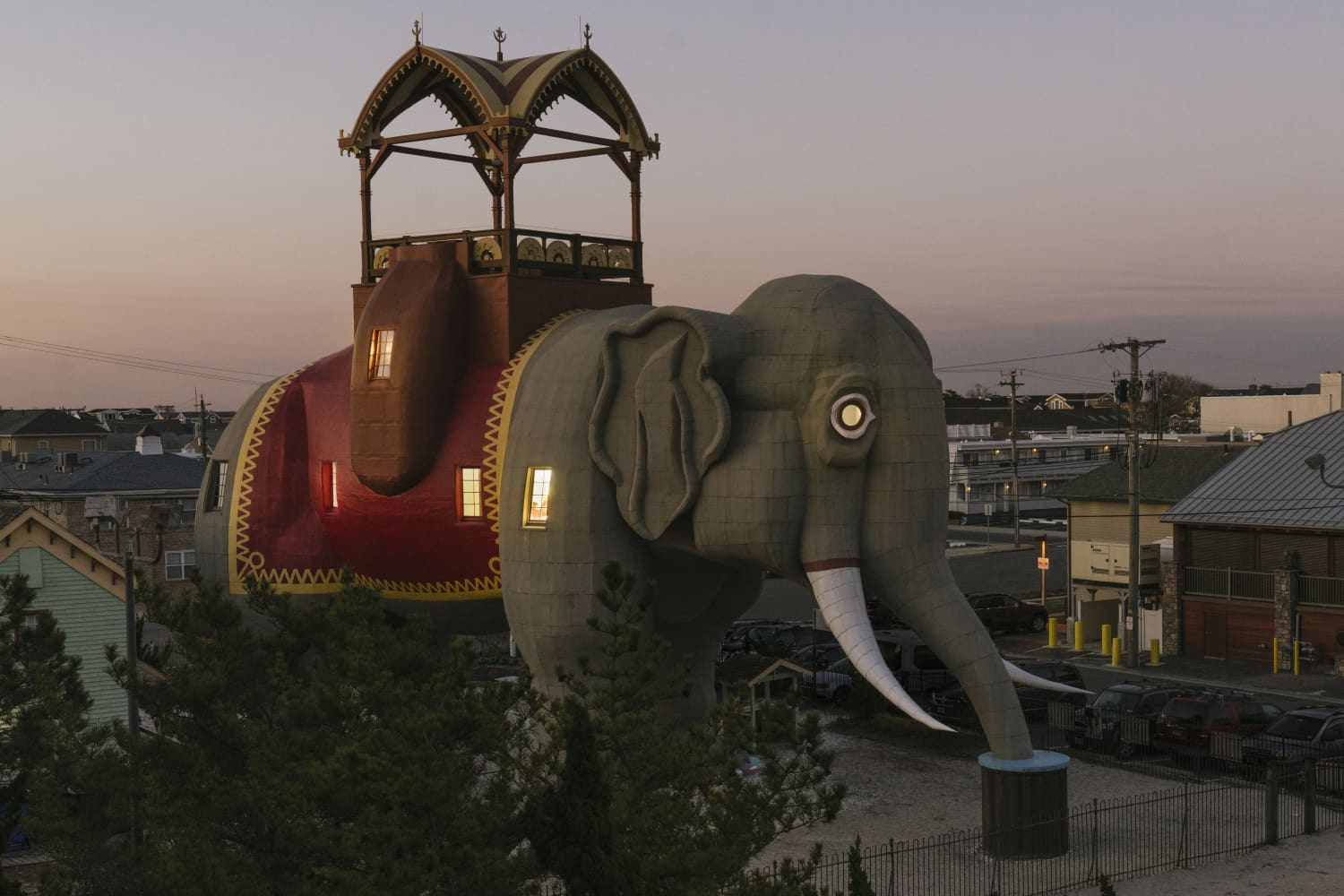 Stay Inside This Elephant-Shaped Airbnb at the Jersey Shore That's a National Historic Landmark