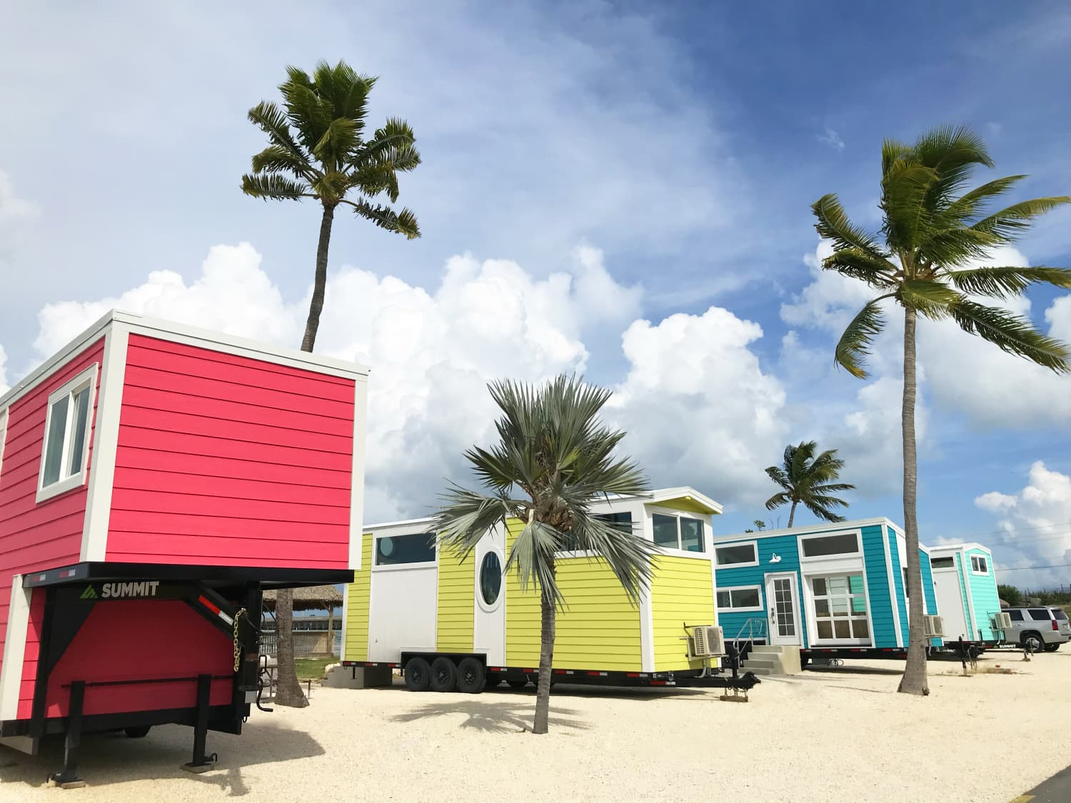 A New Tiny House Village Just Opened in the Florida Keys, So It's Time to Book a Vacation