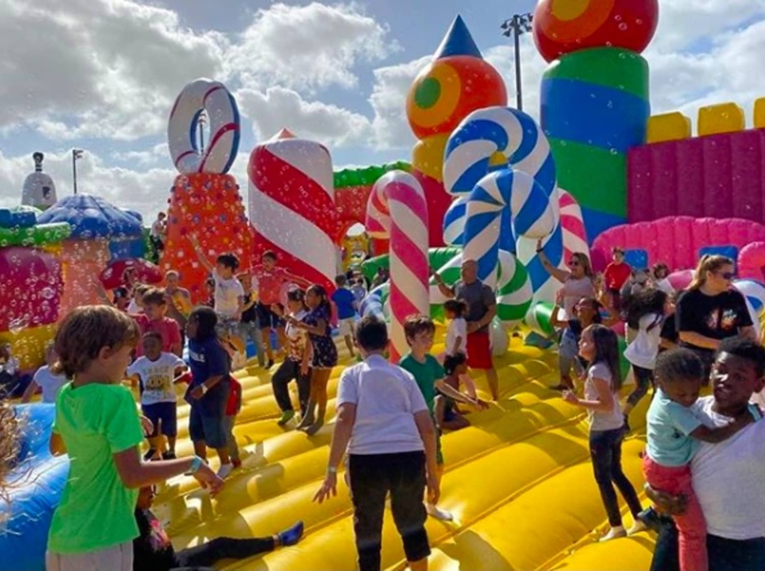 The World's Biggest Bounce House Is Touring America Right Now