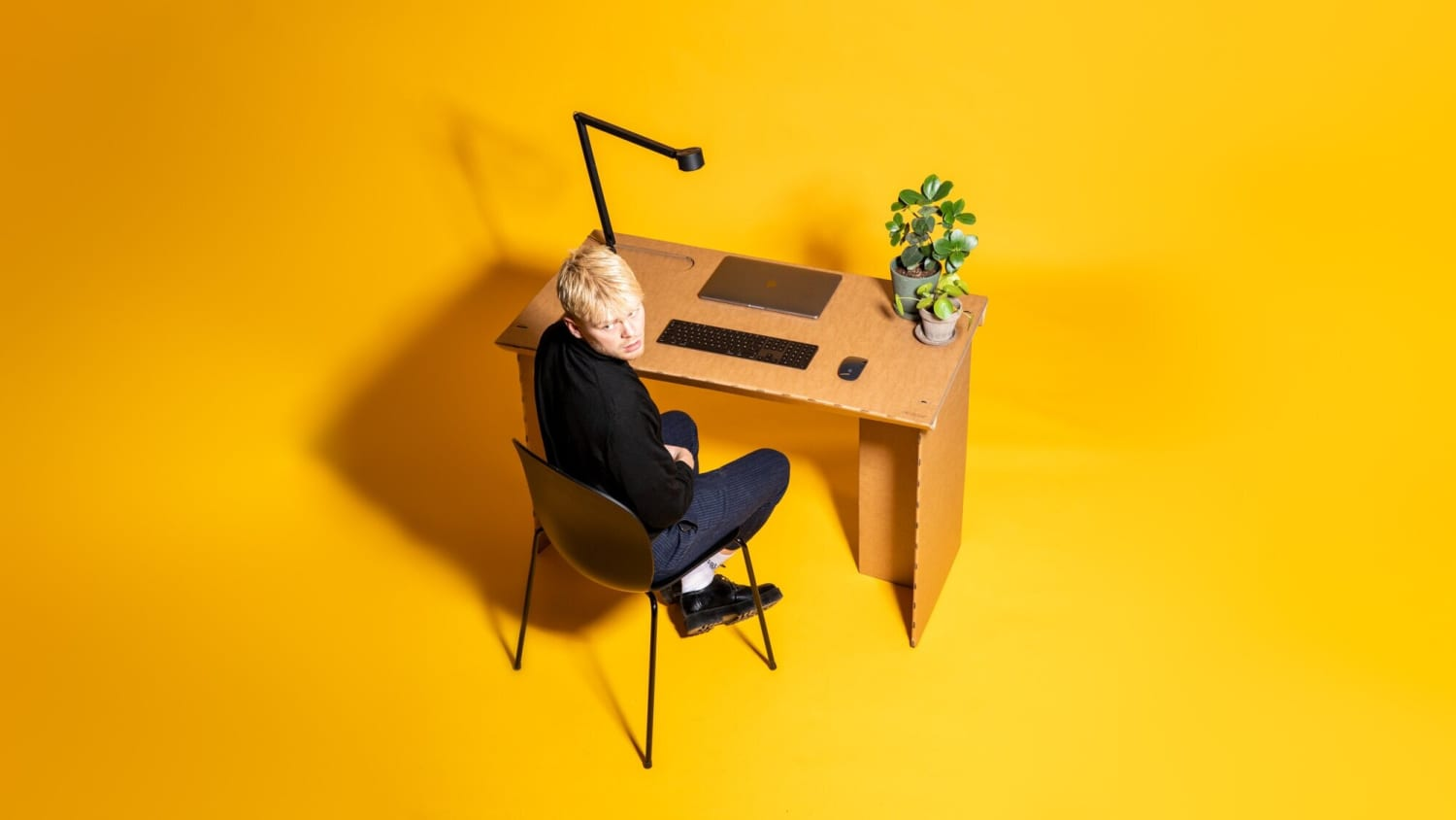 Need a Desk? You Can Buy (or Build!) One Made of Cardboard