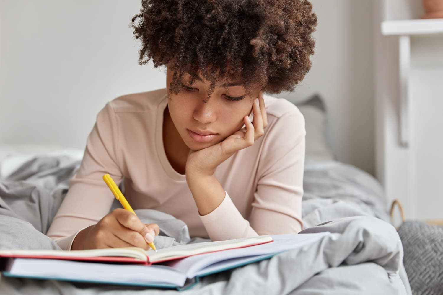 This $15 Journal Helps Me Feel Less Anxious Before I Go to Bed