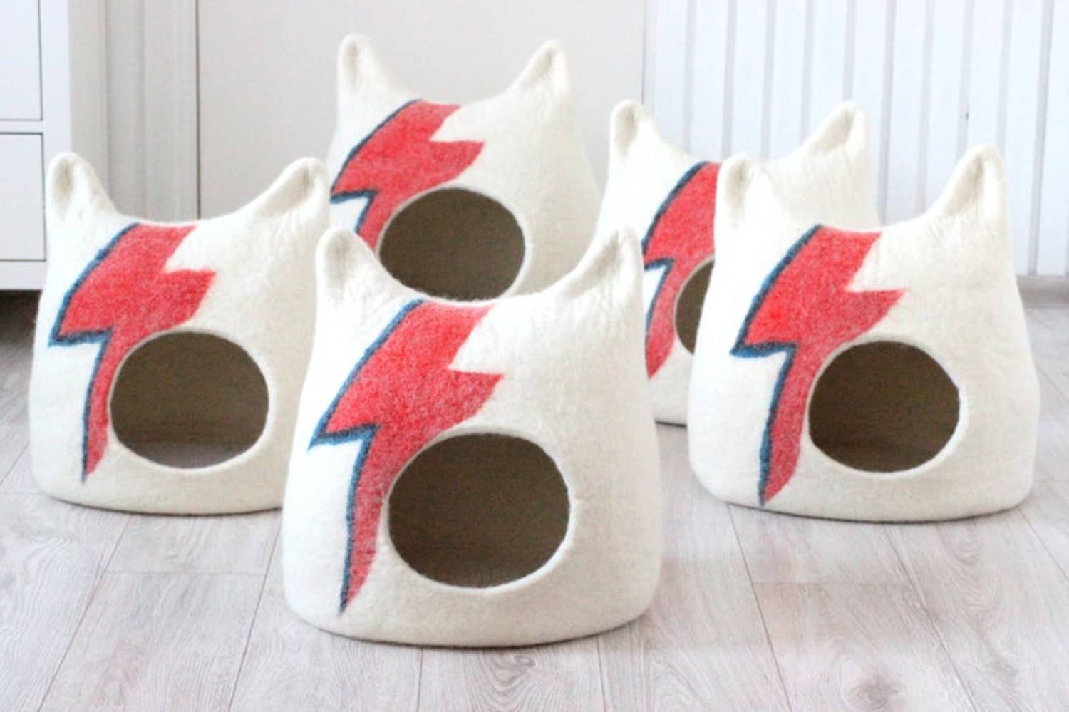 This David Bowie-Inspired Cat Bed Totally Rocks