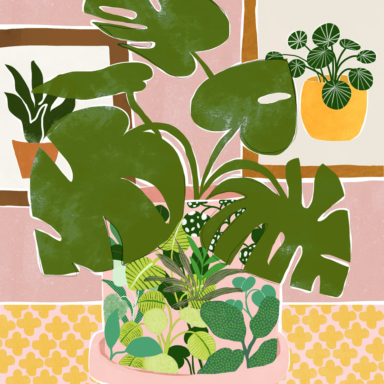 Society6 and The Sill Have Teamed Up for a Collection of Plant-Themed Artwork