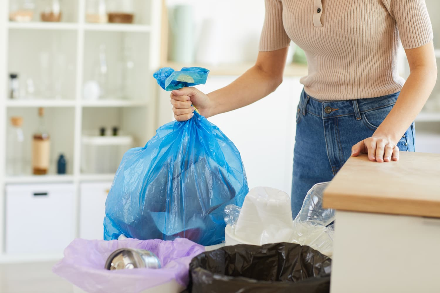 The Brilliant Decluttering Trick We Just Learned From HGTV