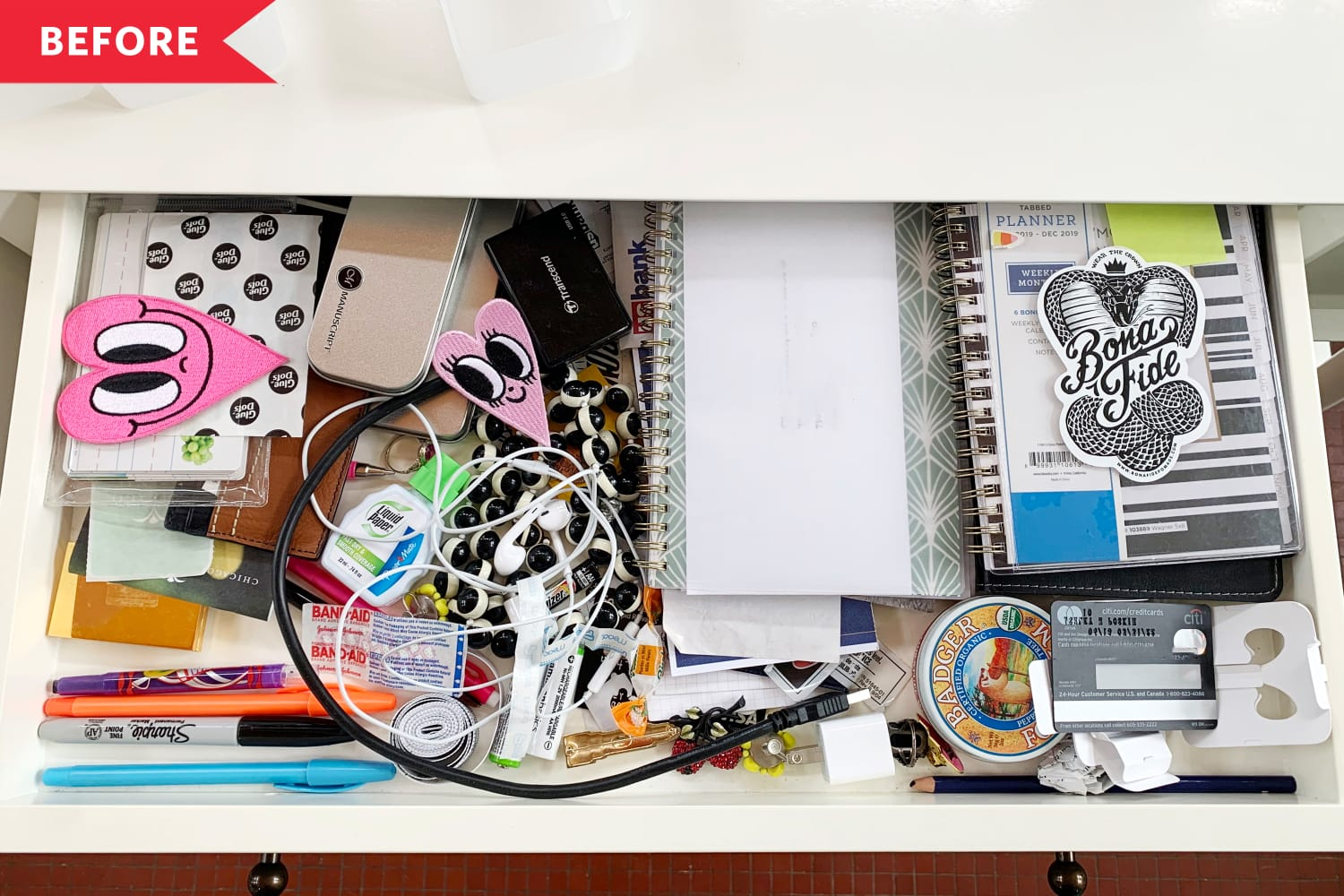 Before and After: 3 Messy Drawers Get a Makeover With $1 Trays from Target