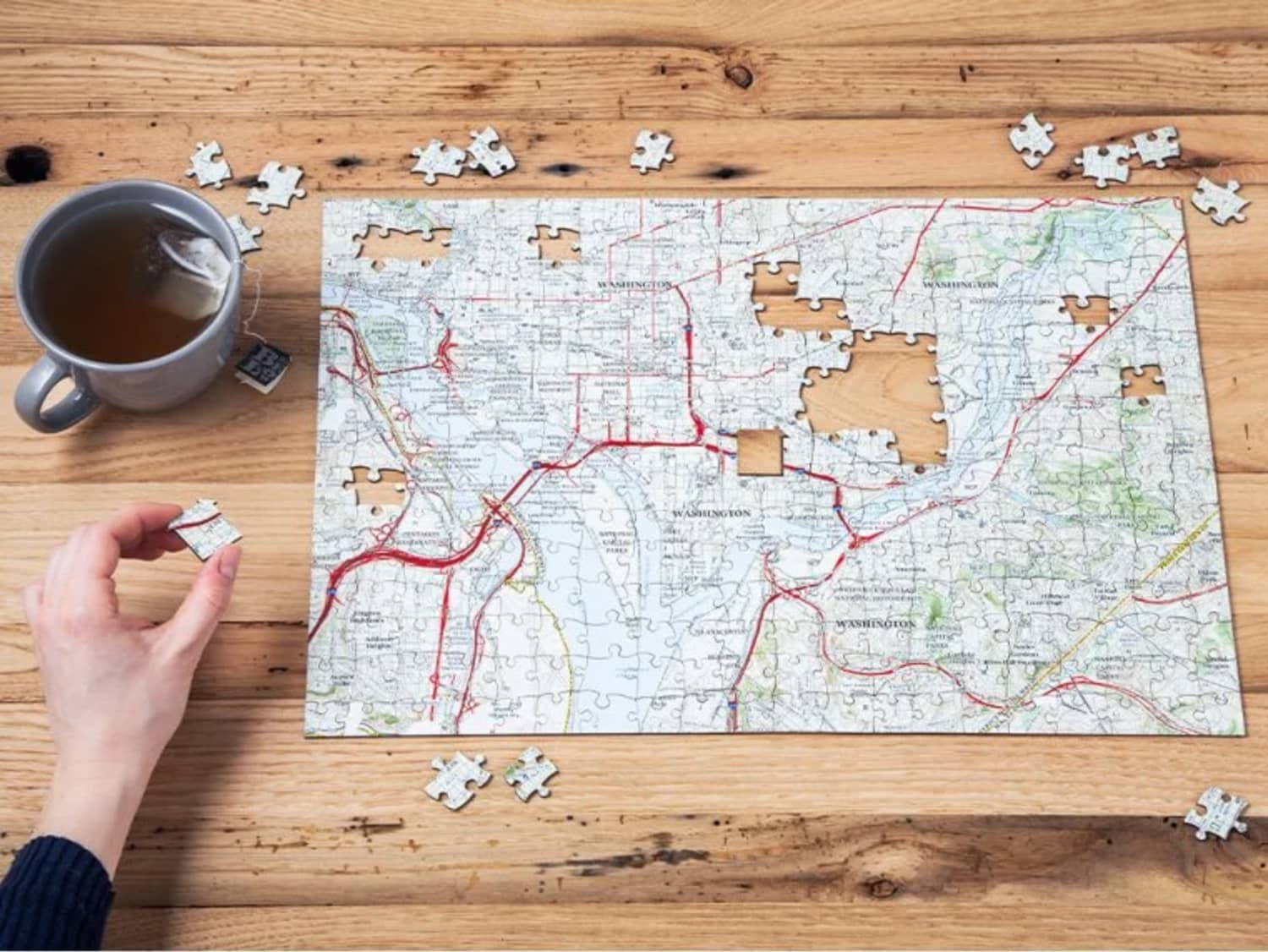 This Customizable Puzzle Is the Perfect Gift for the Person Who Has Everything (and It's Under $50!)