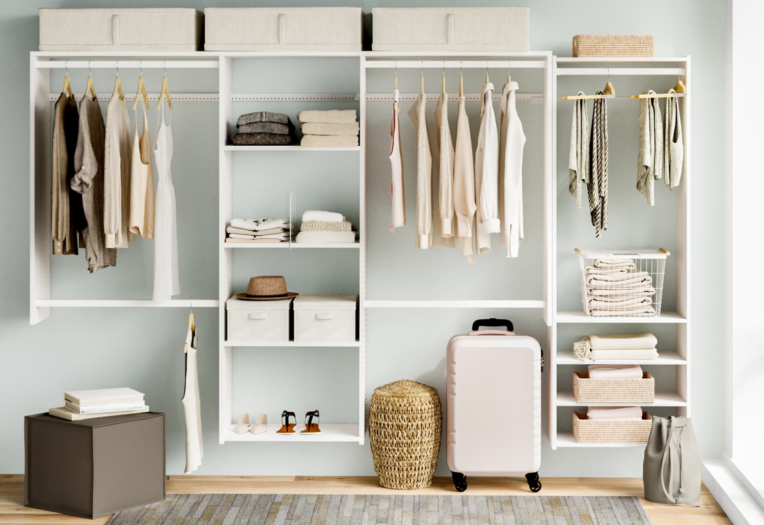 Attention: Wayfair Just Launched Their Own Organization and Storage Line, And It's Glorious