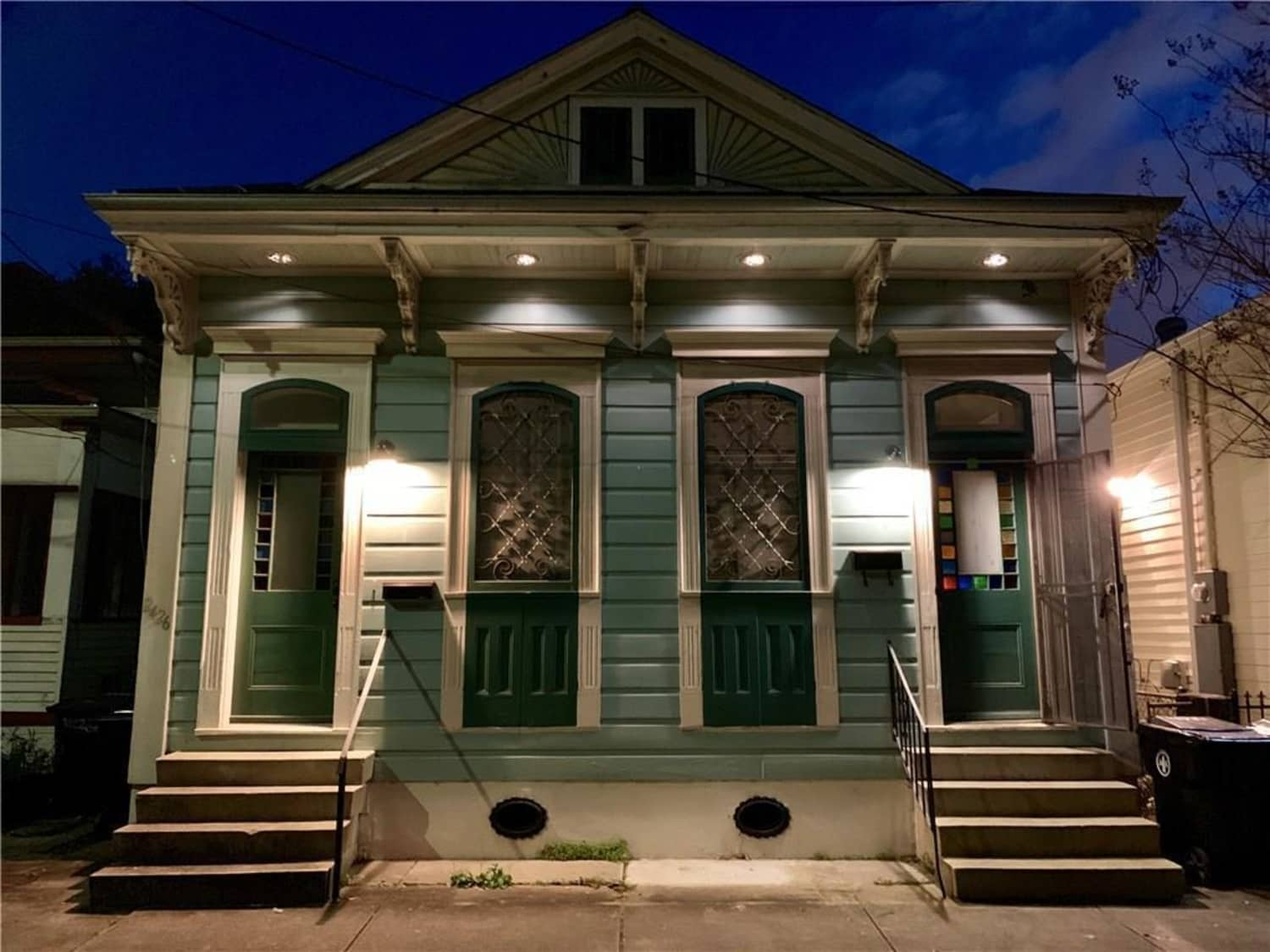 Look Inside This Double Shotgun House for Sale in New Orleans—It's a Kaleidoscope of Color