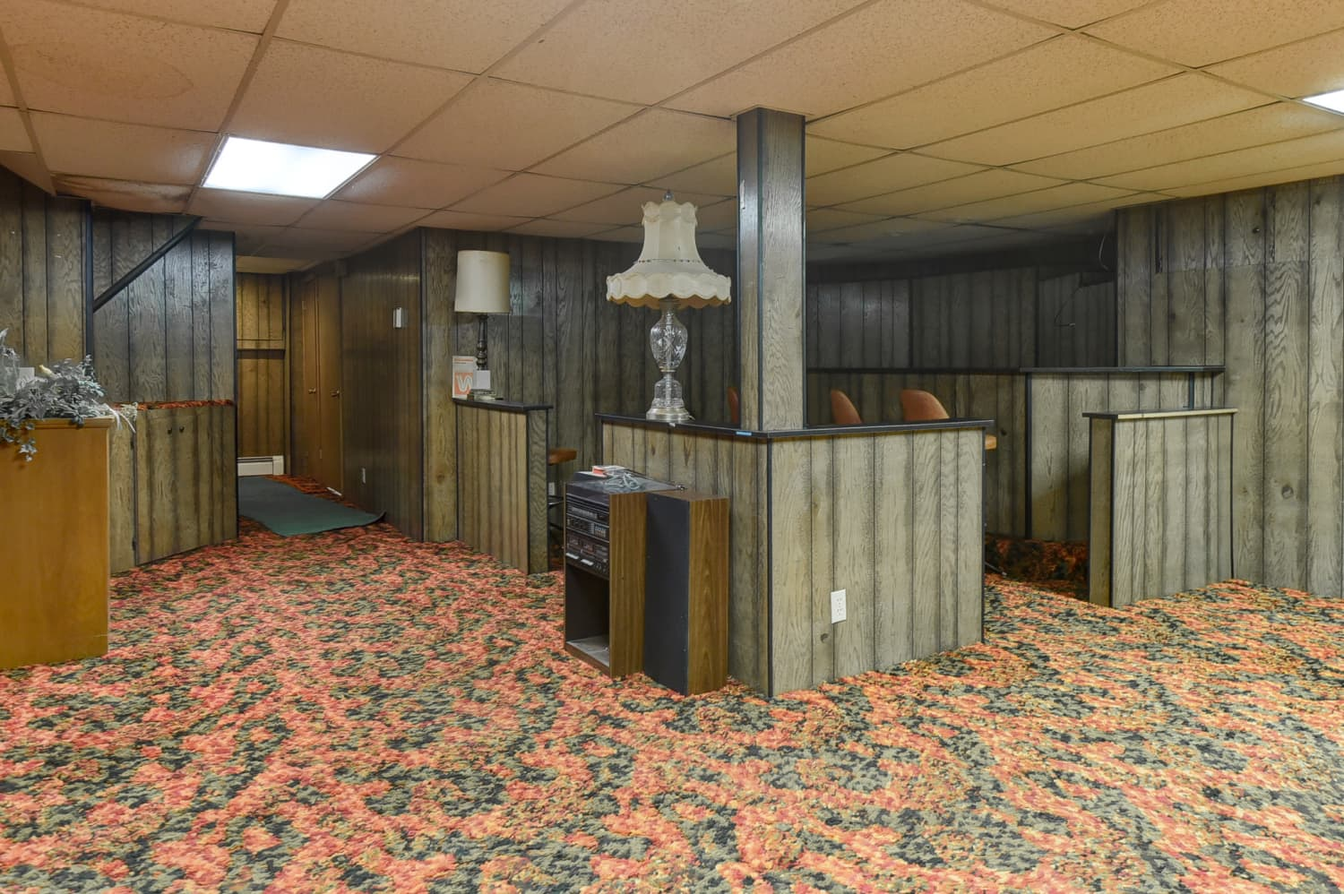 Hey, Don't You Dare Think About Renovating This Perfect '70s Basement in Nebraska