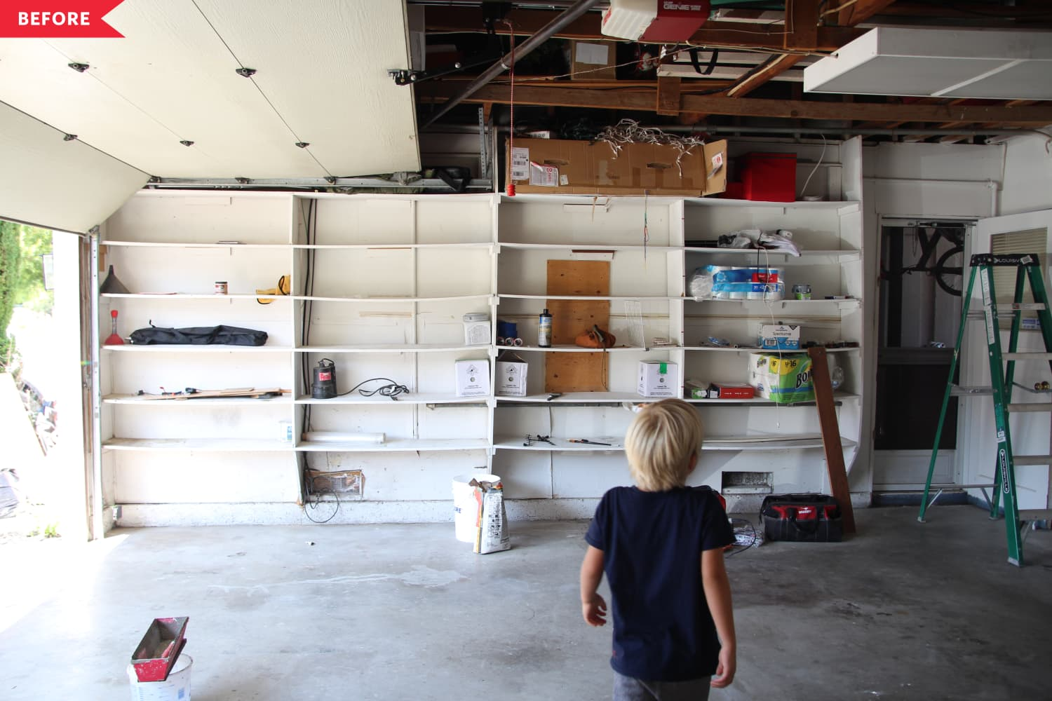 This Lifestyle Blogger's Renovation Turns a Garage into a Practical Paradise