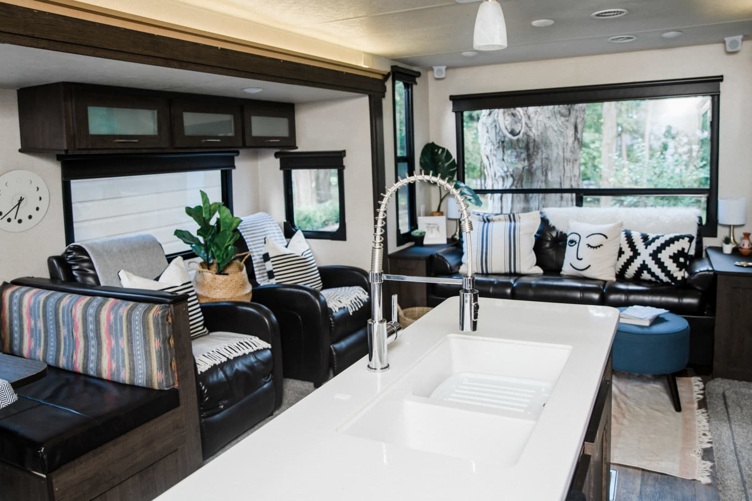 These Tiny Tweaks Turned a Photographer's Camper into a Cozy Home