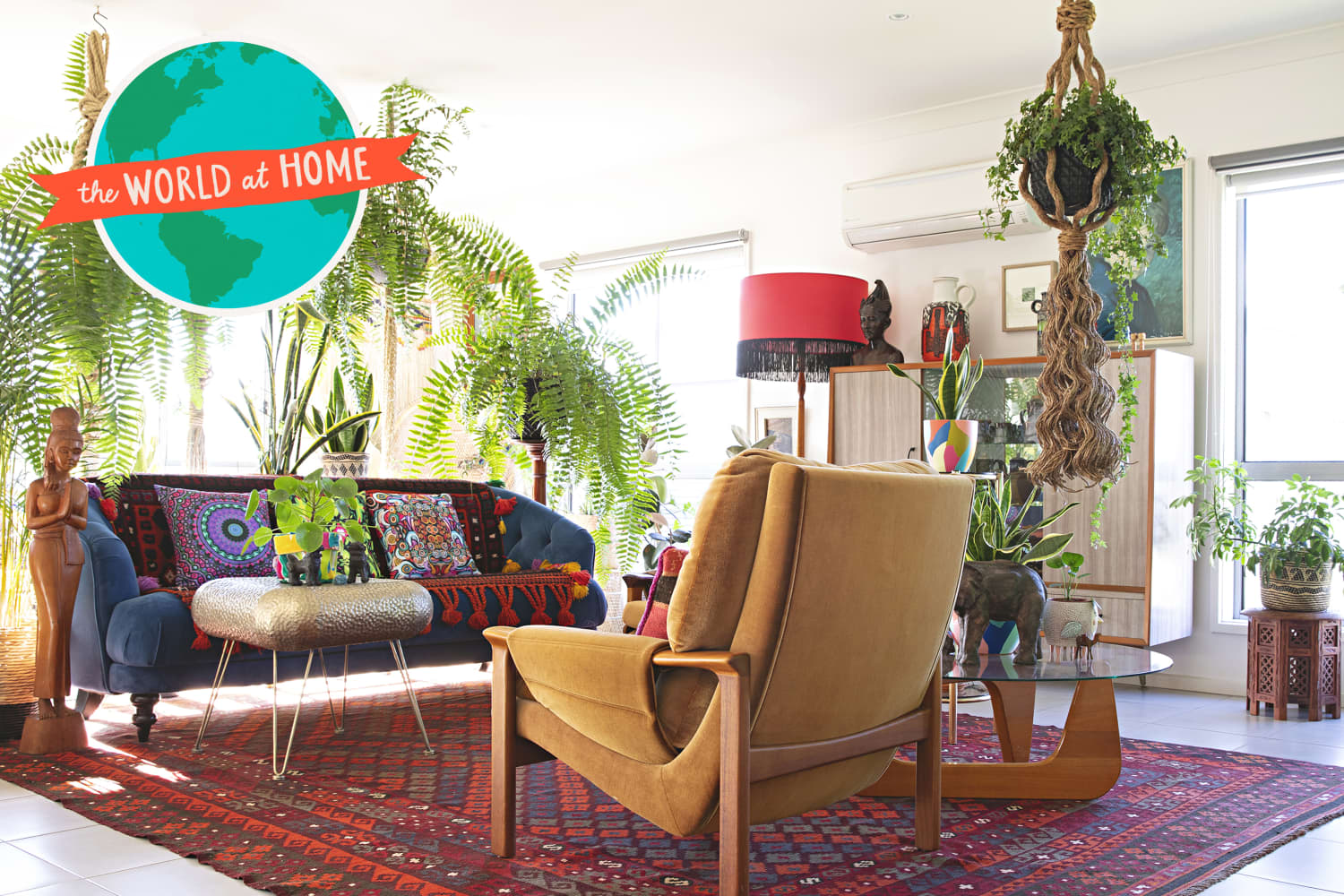 This Plant-Filled, Colorful Australian Home Is the Very Definition of Bohemian Maximalist