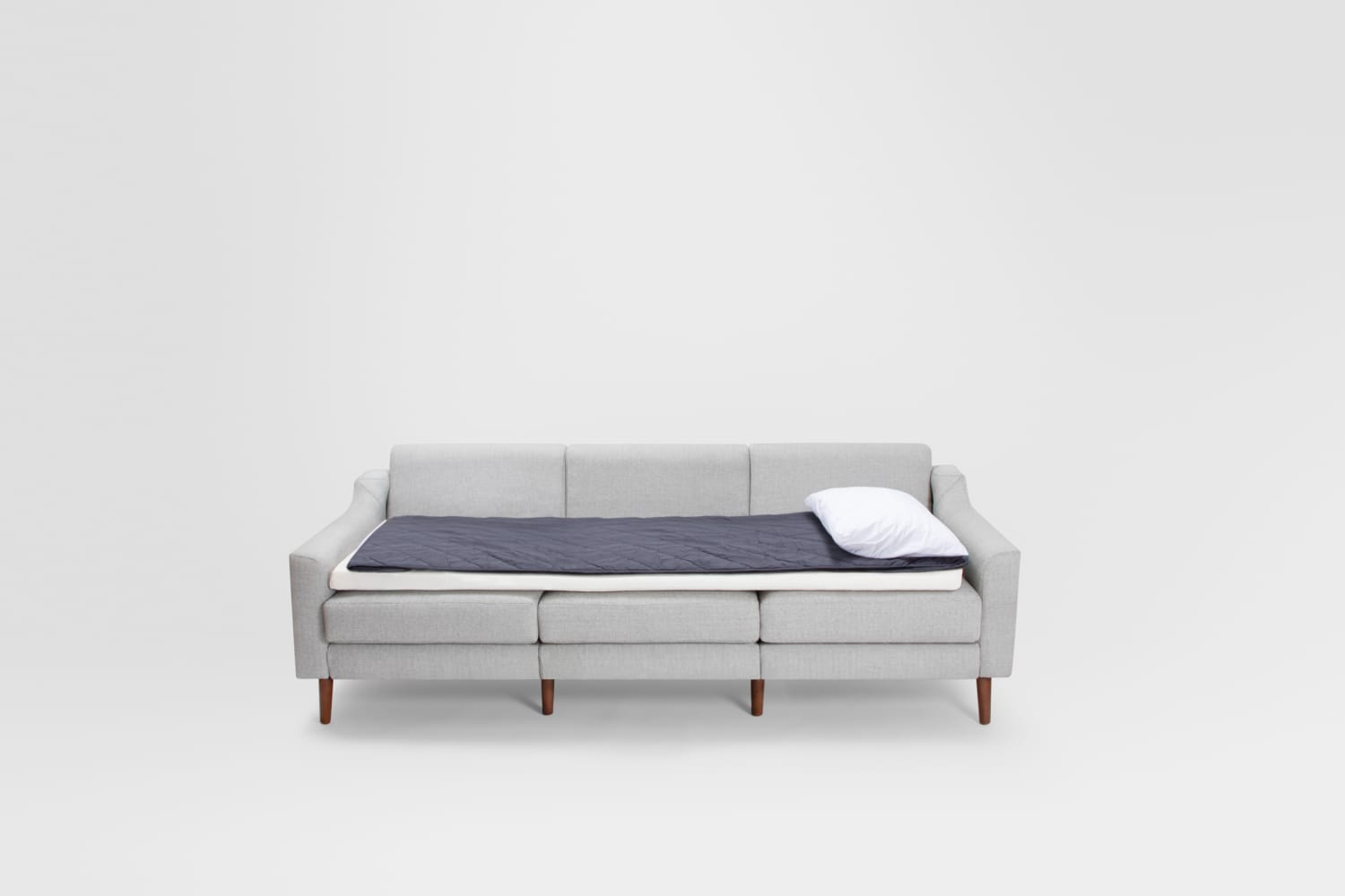 Burrow's New Sleep Kit Turns Any Sofa Into a Luxury Guest Bed