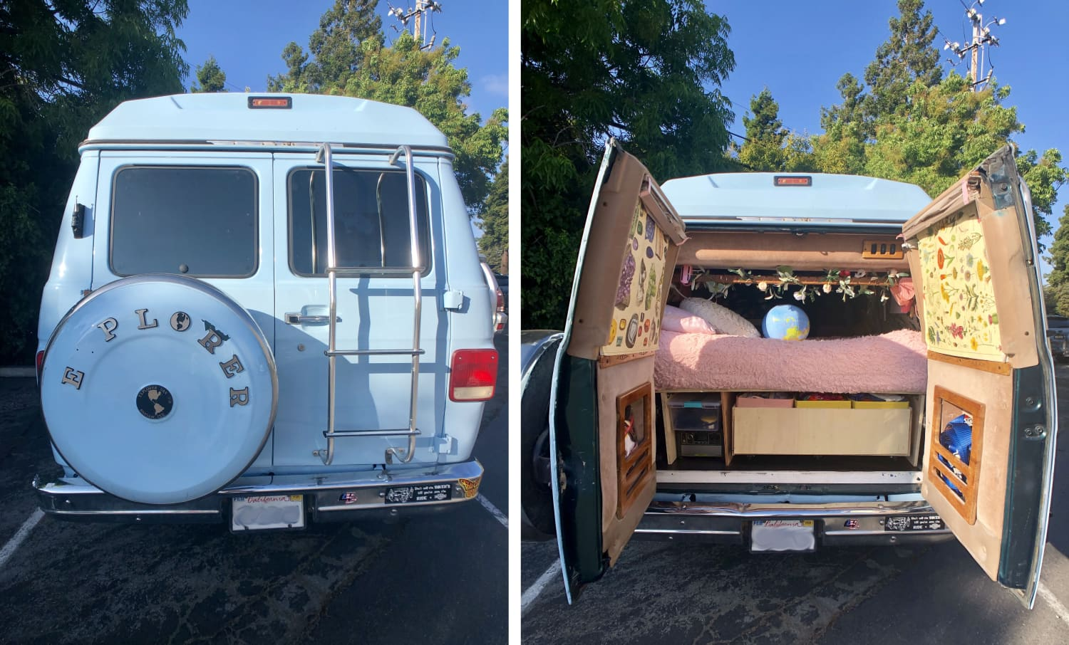 This Converted Van Is One of the Coziest Tiny Homes on Wheels We've Seen